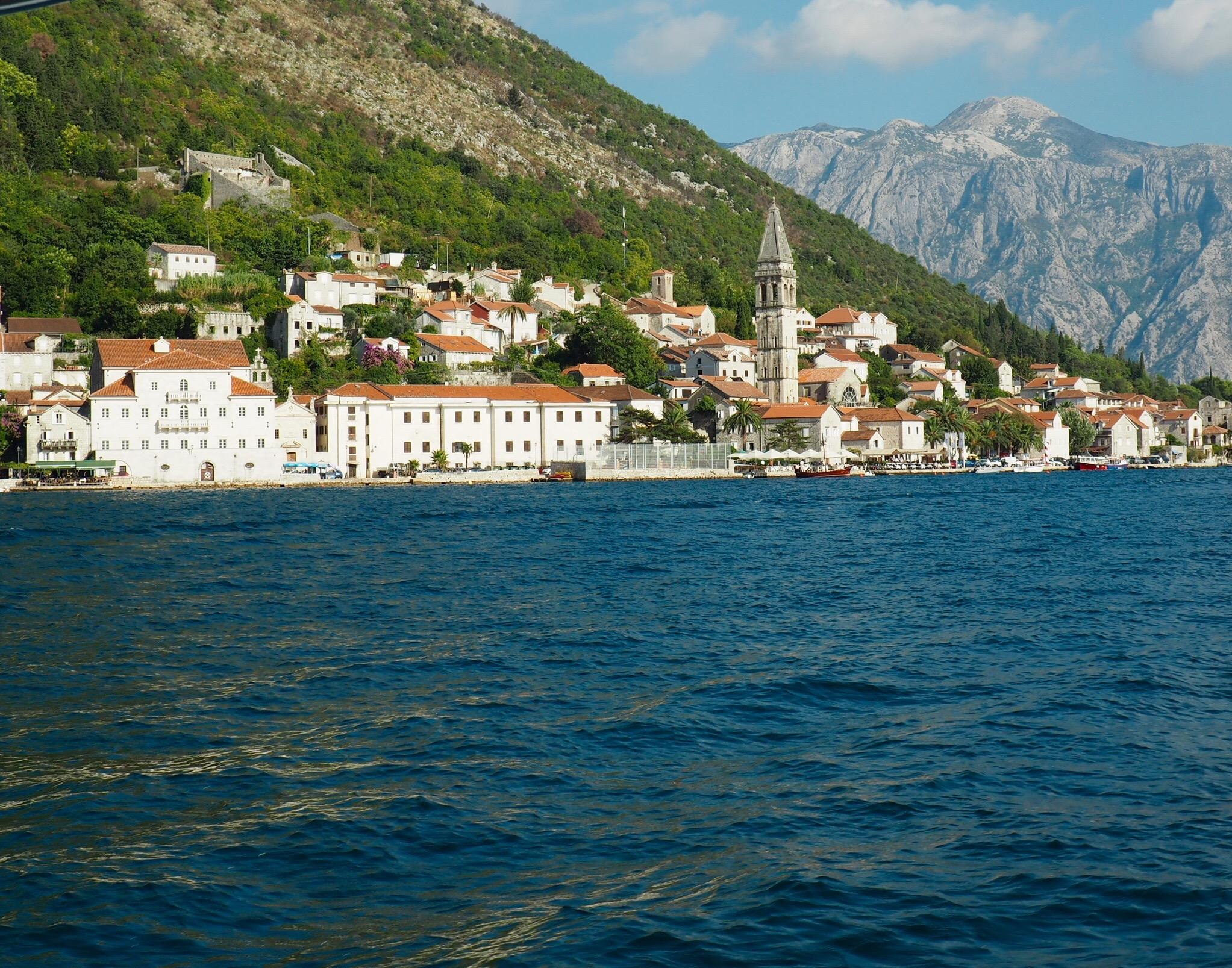 Perast, the Bay of Kotor, Montenegro.