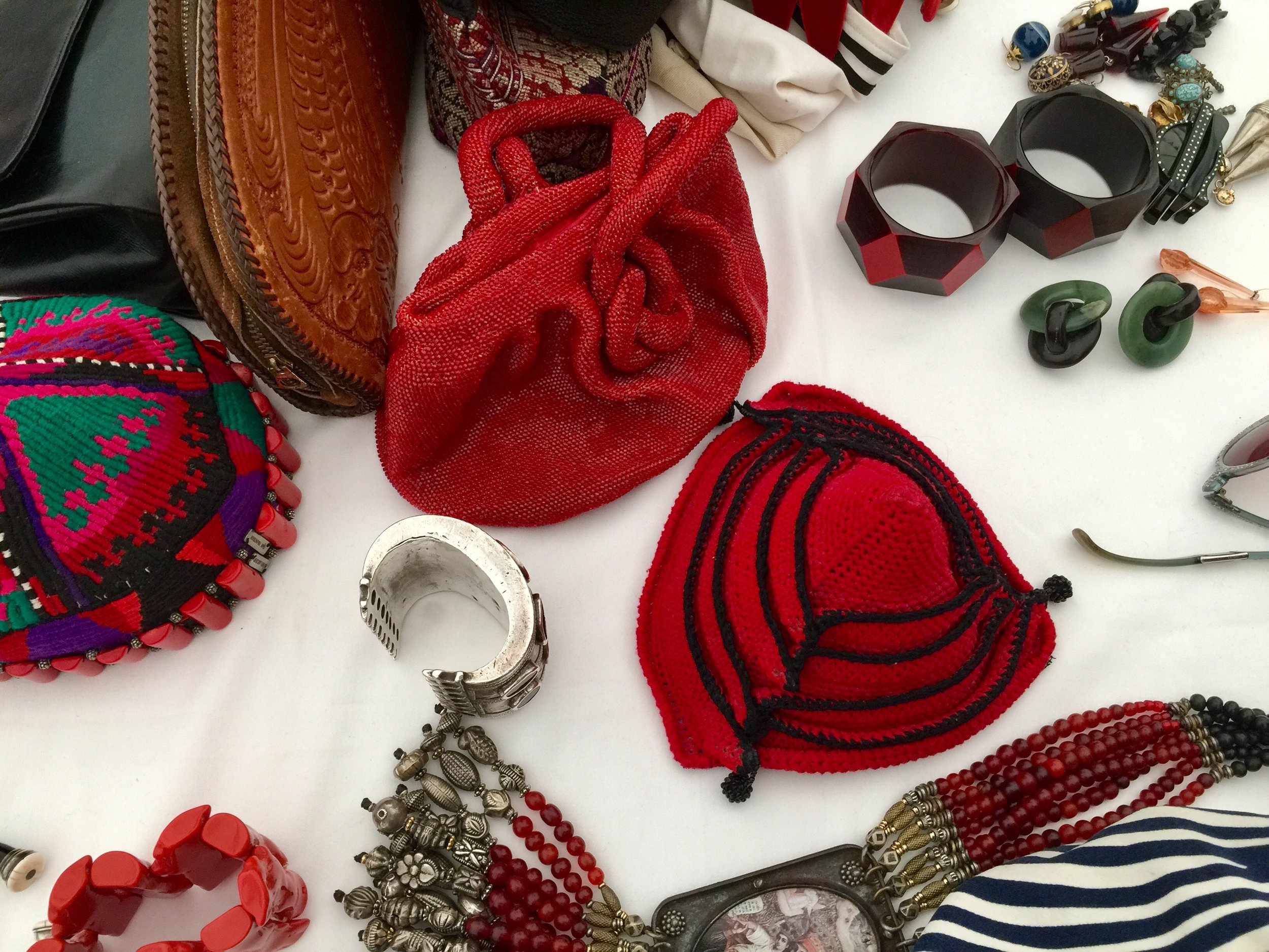 Hats, bangles & necklaces. Styling it up with Tziporah Salamon.