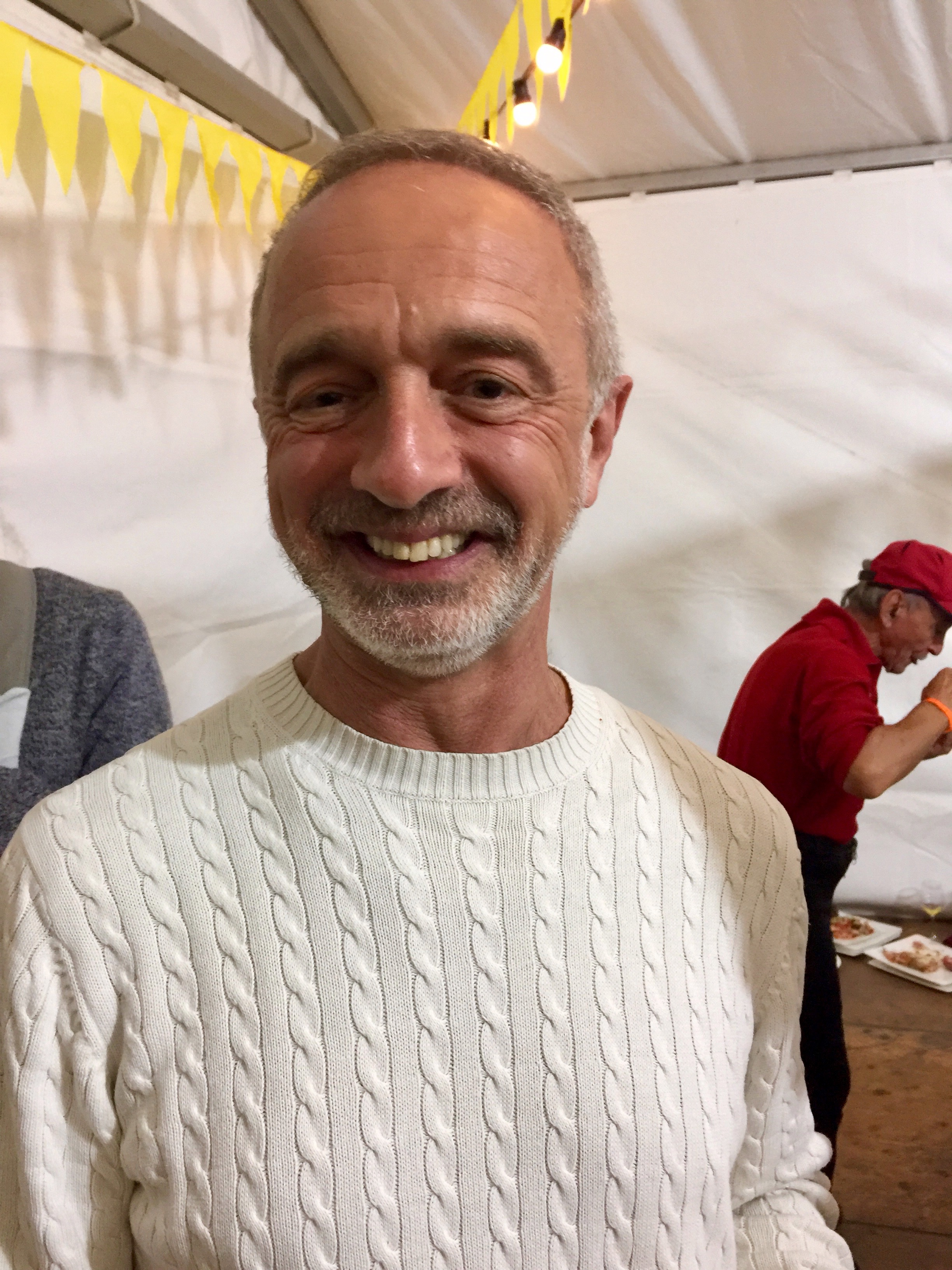 Victor Michaelson, food guru with a particular interest in the Slow Food movement