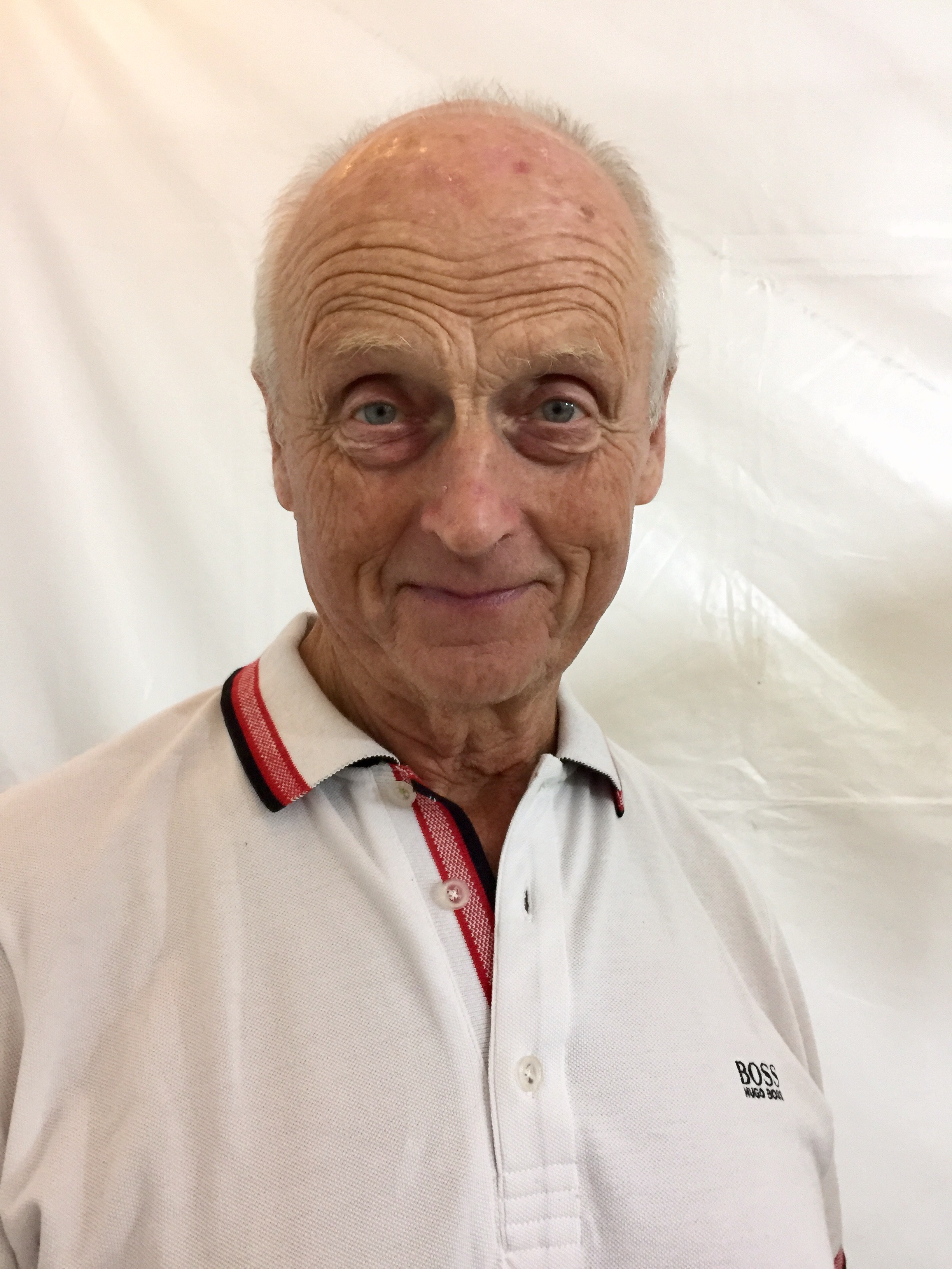 Roger Allsopp. 75 years old and has swam across the English Channel - twice!
