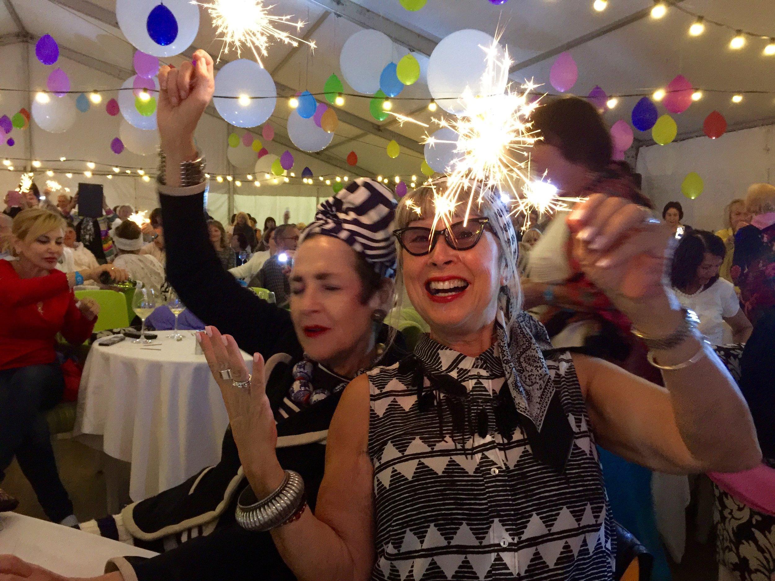 Tziporah Salamon & Alternative Ageing: party time!