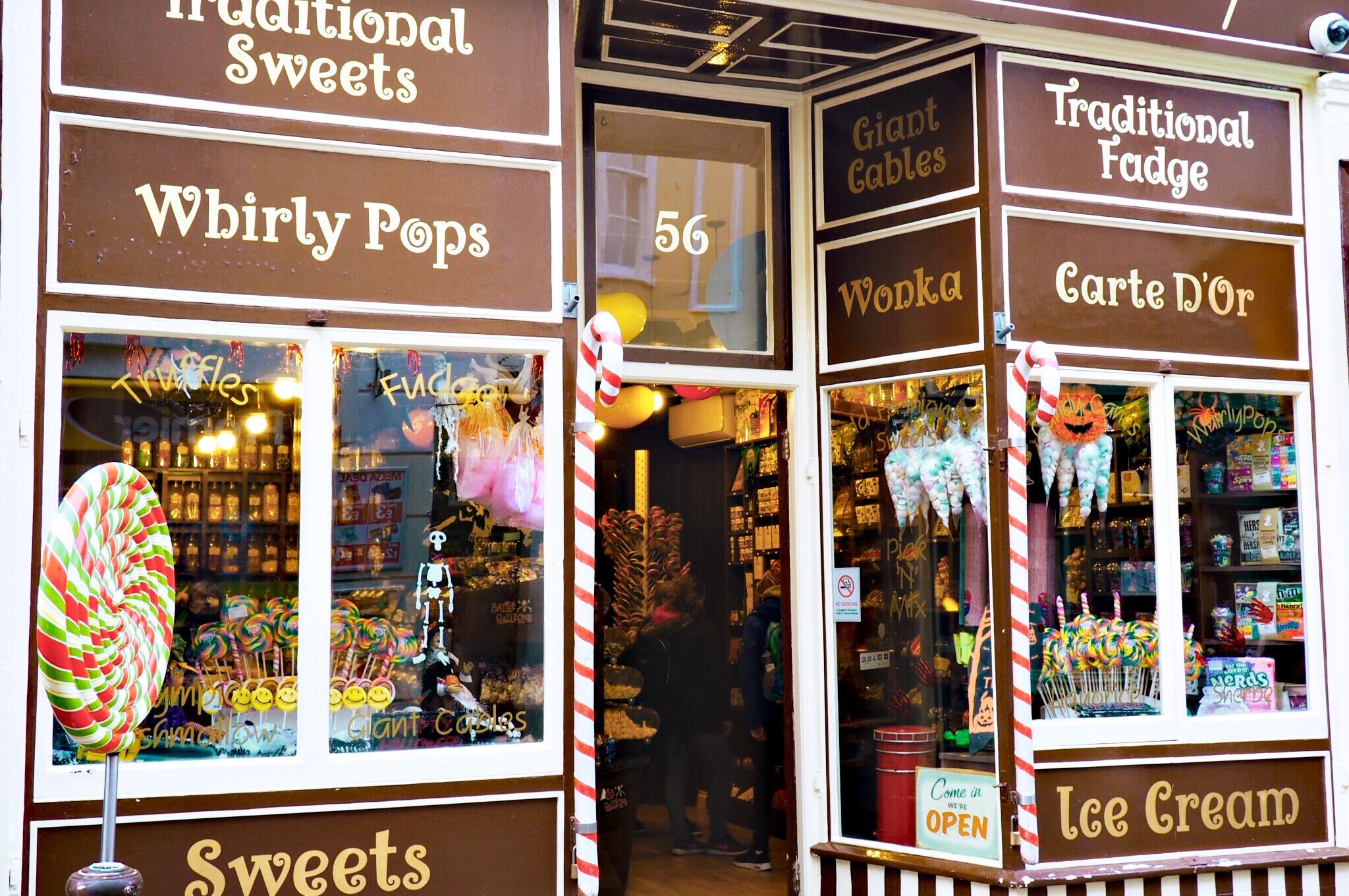 Sweeties! Hastings shop.