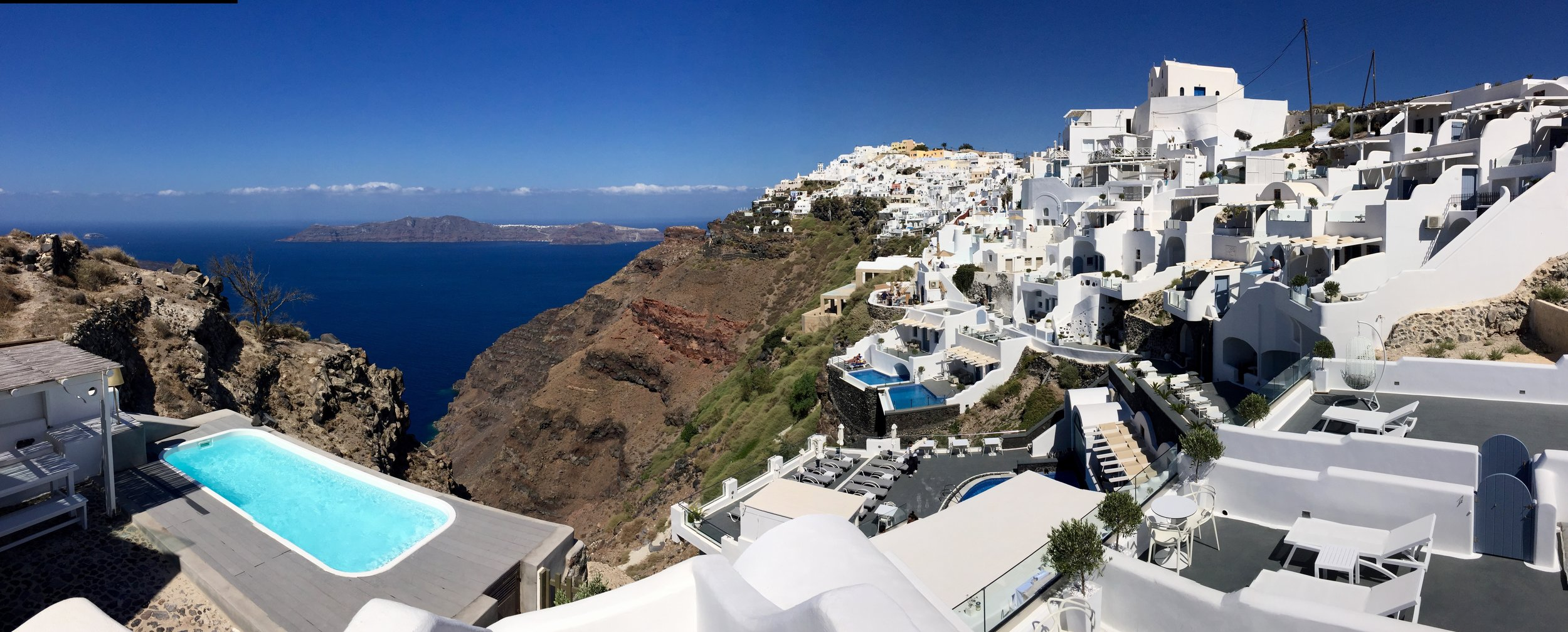 What a view of Santorini