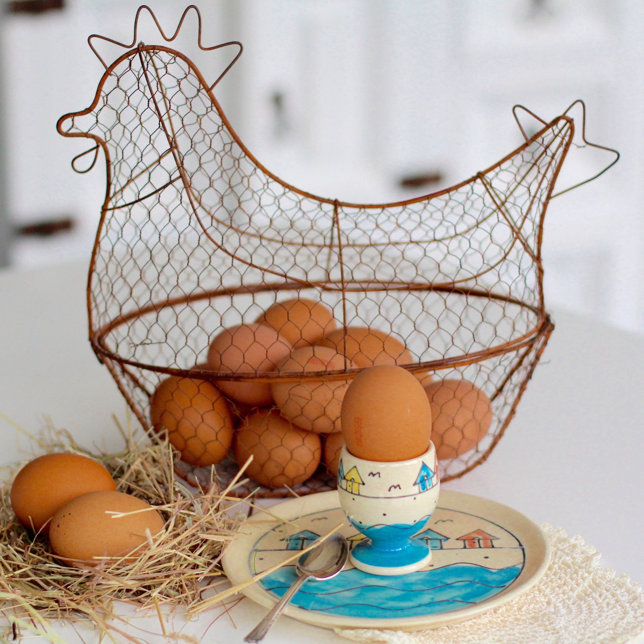 What came first, the chicken or the egg!