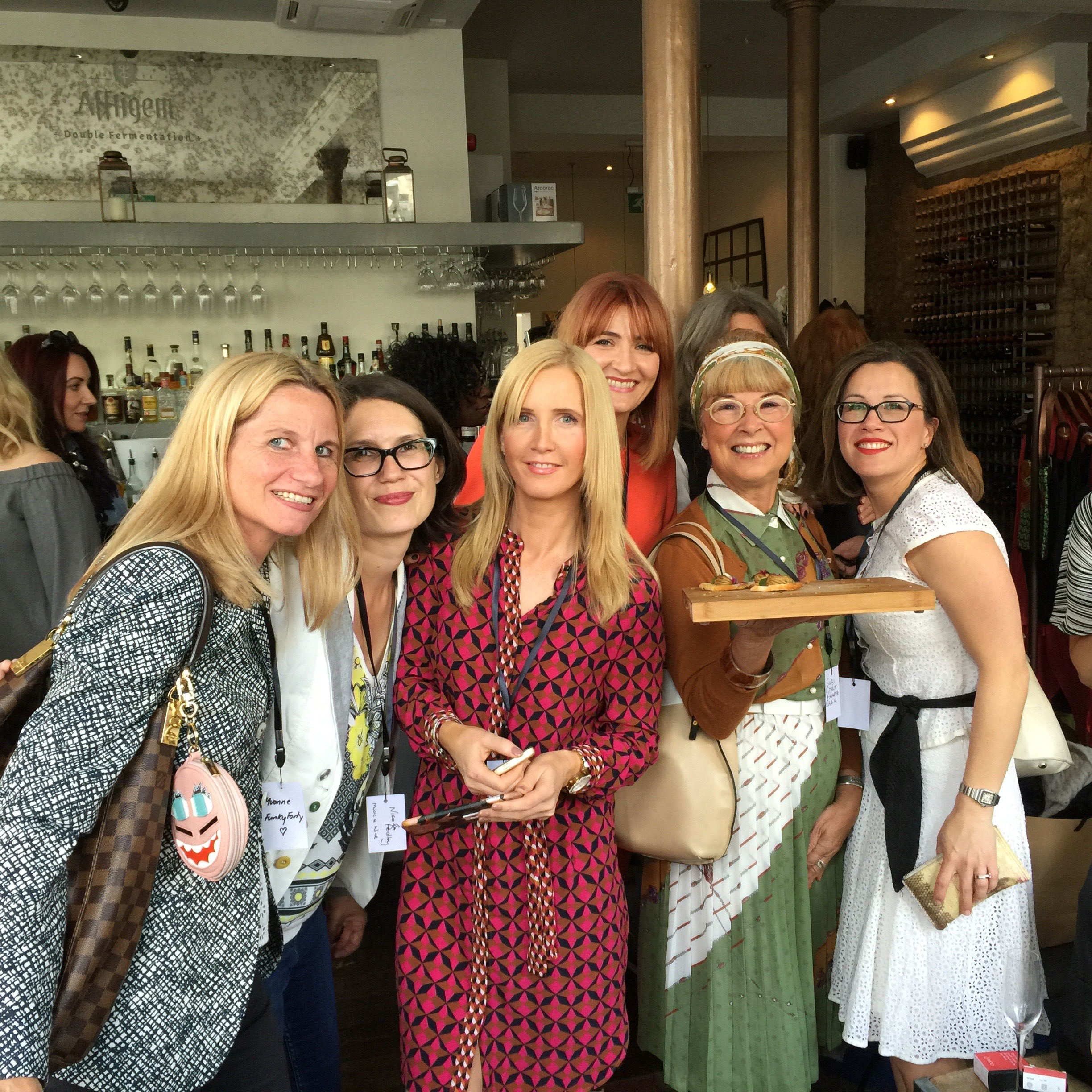 Meeting lovely bloggers & Catherine Summers