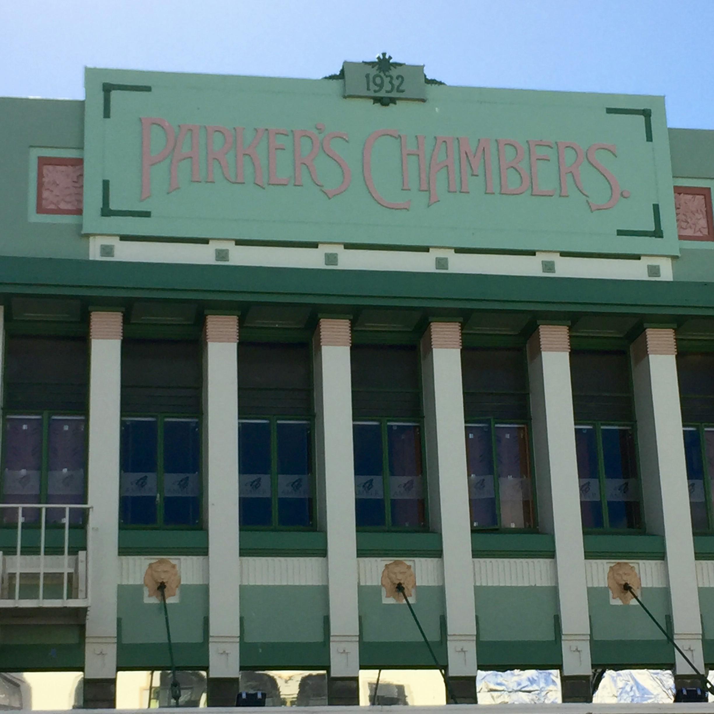Napier. Art Deco.