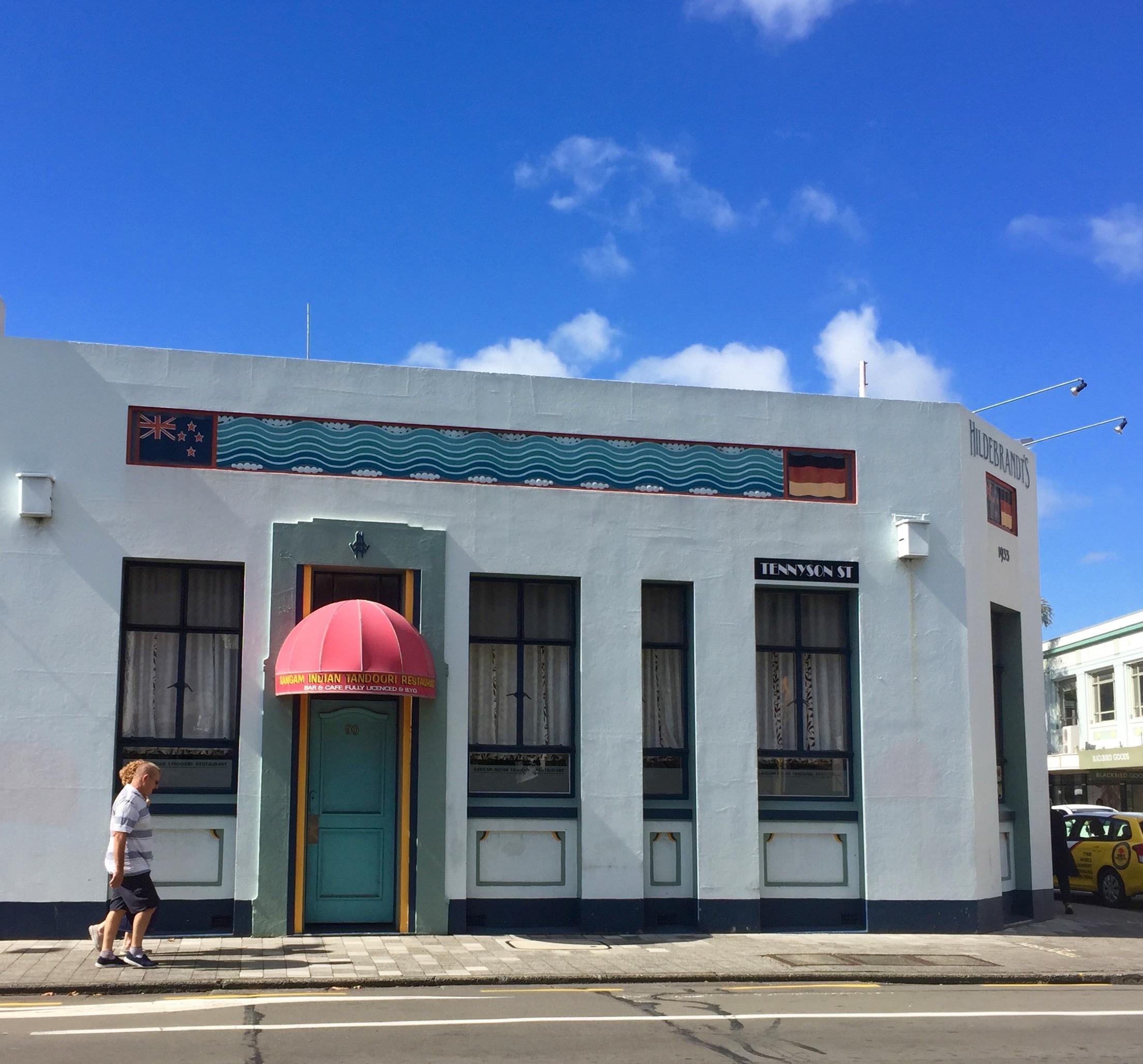 Napier Art Deco. New Zealand.