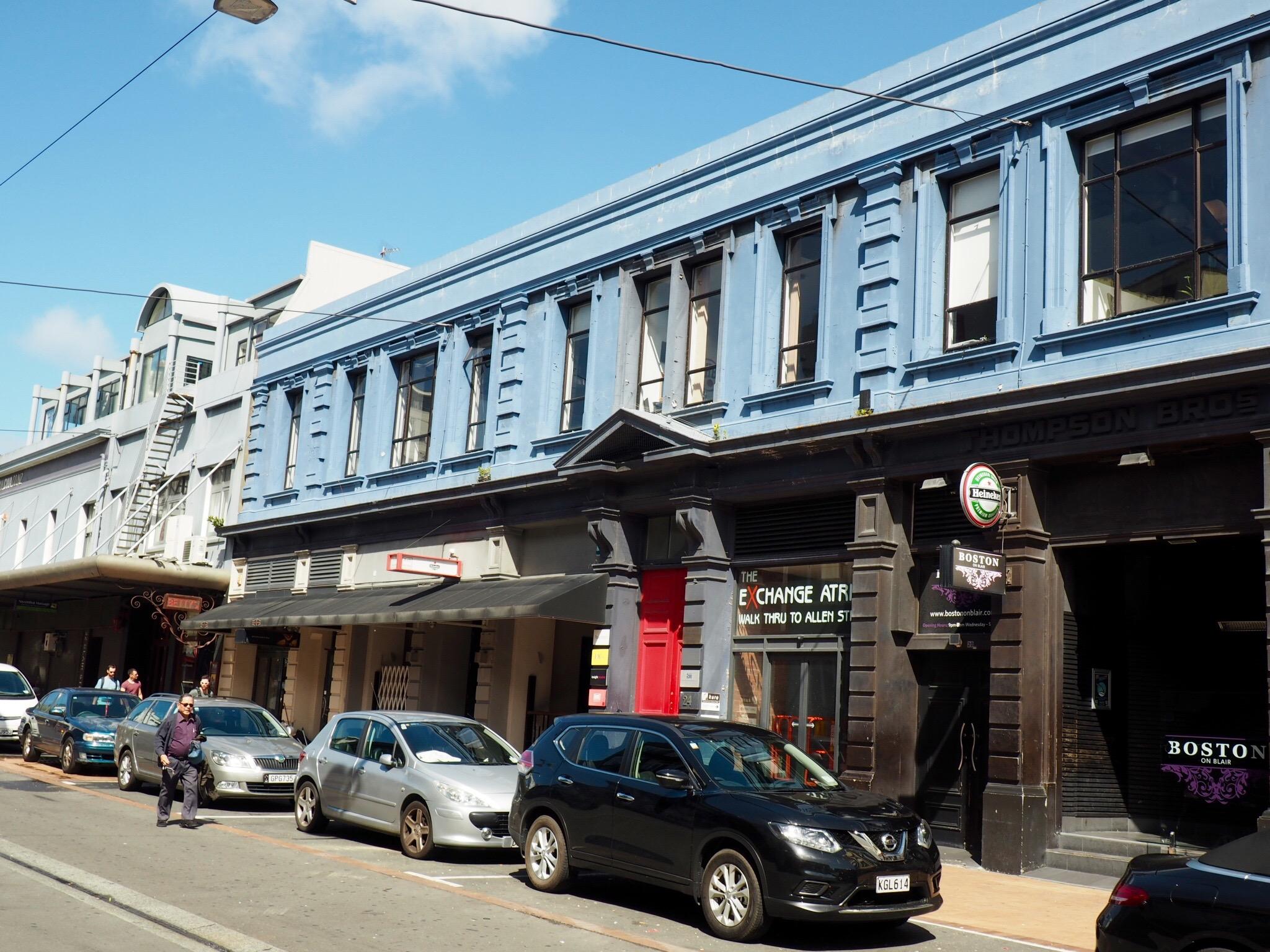 Wellington street. NZ.