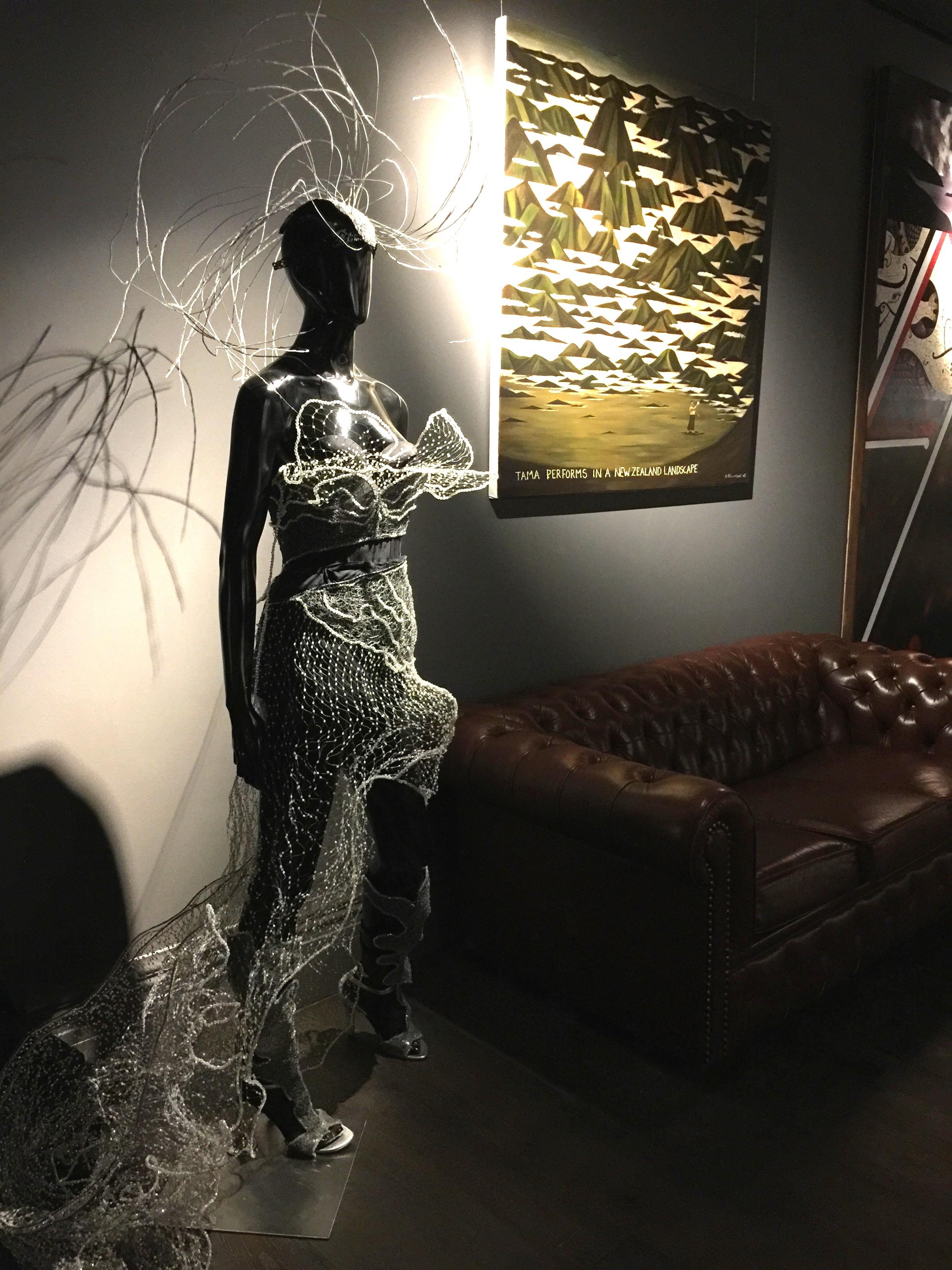 Art. QT Museum Hotel, Wellington.
