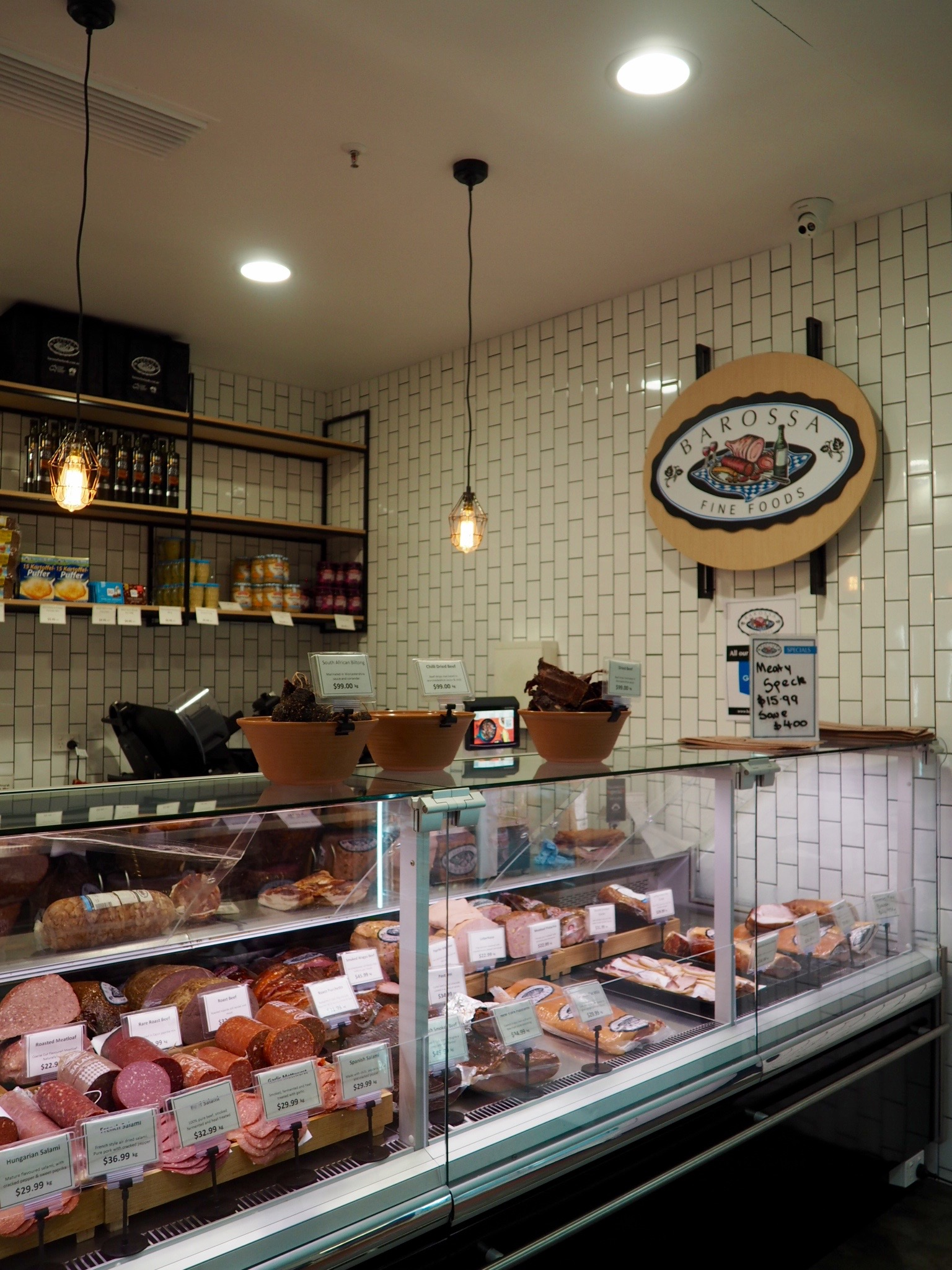 Deli at Prahran Market. Melbourne.