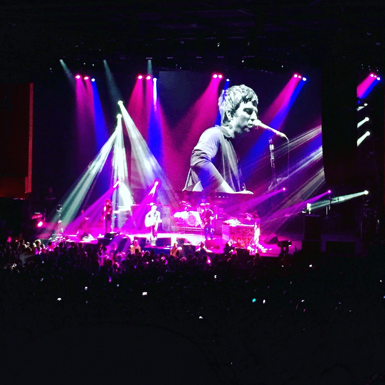 Noel Gallagher and The High Flying Birds.