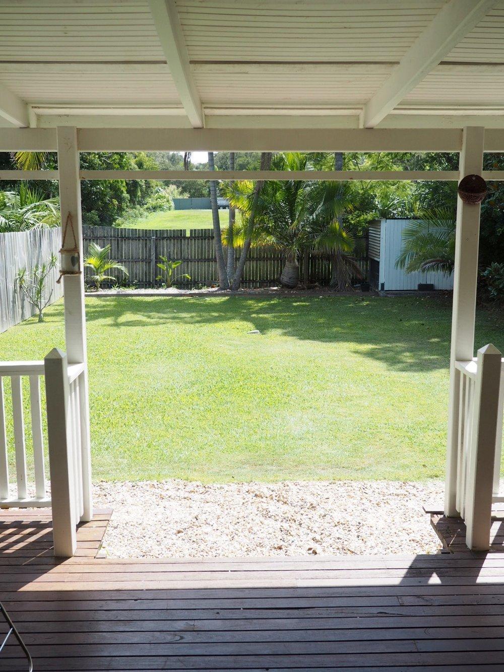 My rental home in Australia