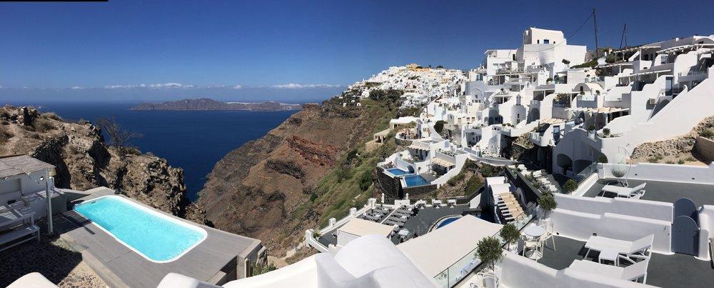 Five days in Santorini