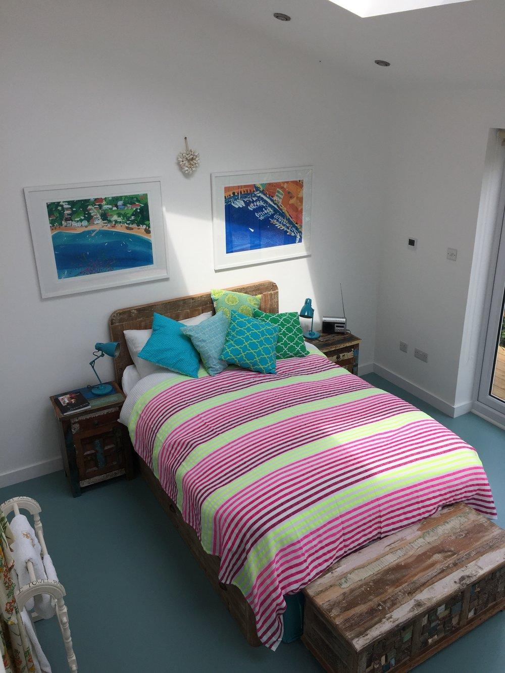 My new garden/guest room