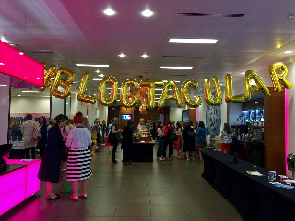 My first bloggers conference: Blogtacular, London 2016