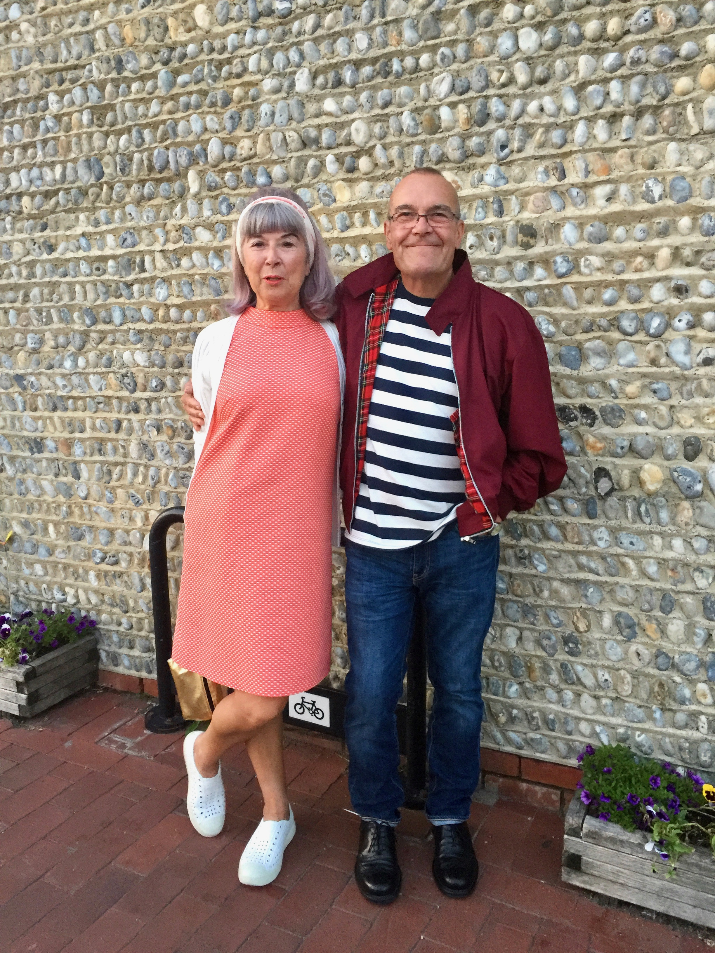Trying to look like mods, for the mod weekend in brighton!