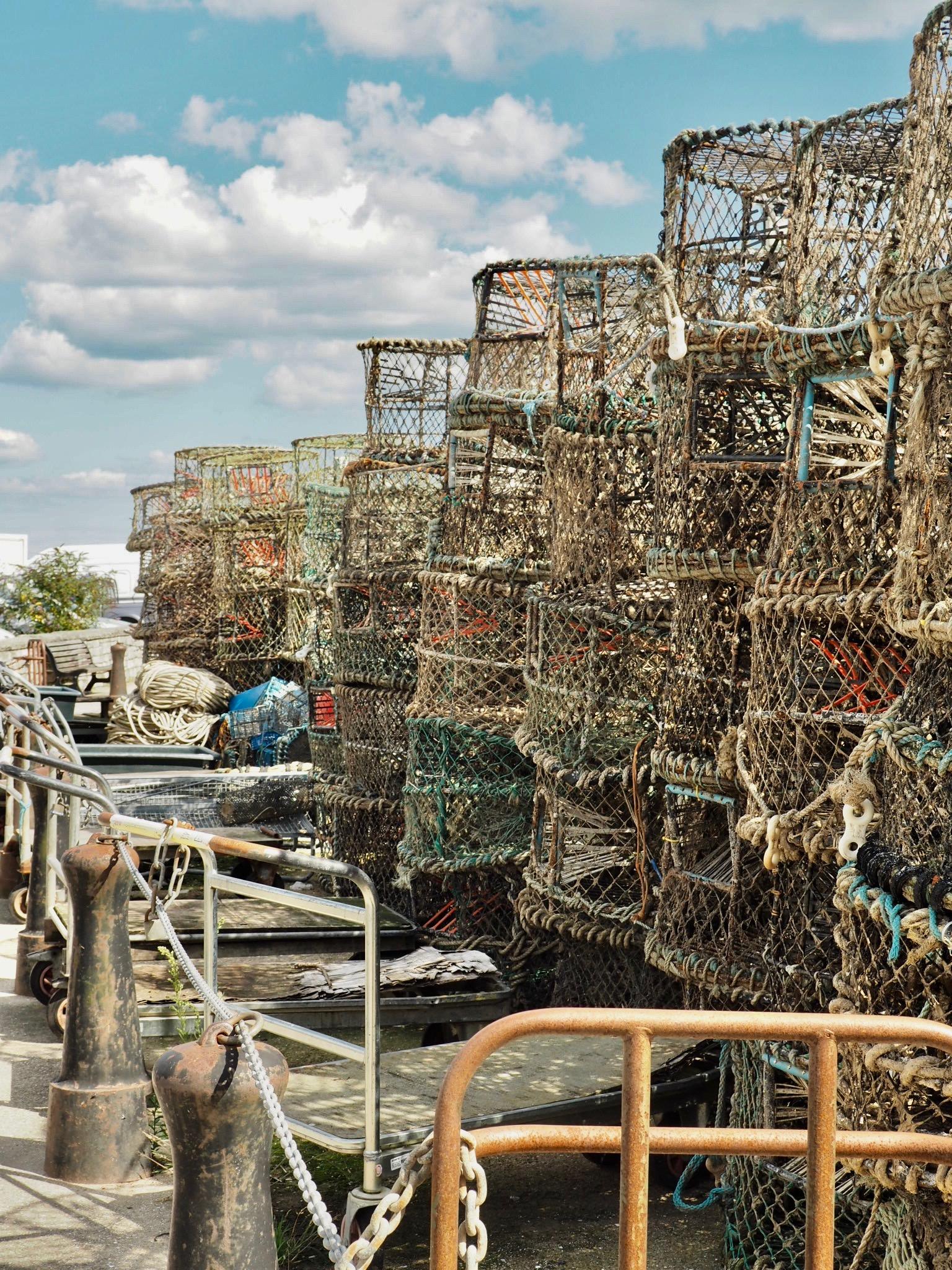 Poole fishing port