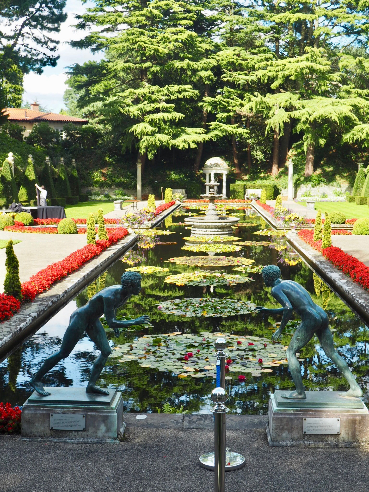 Compton Acres, Italian Garden.