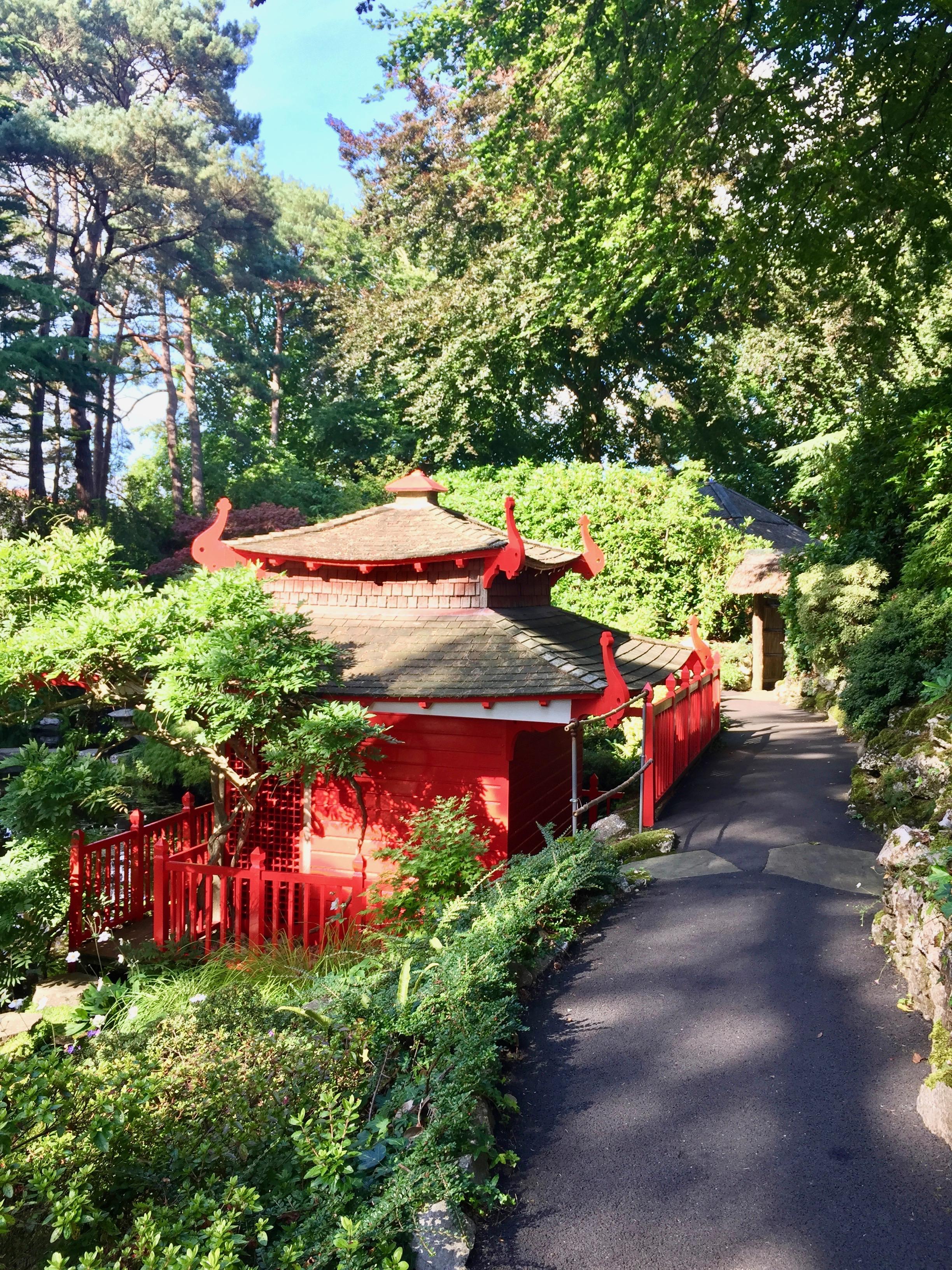 Compton Acres, Japanese Garden
