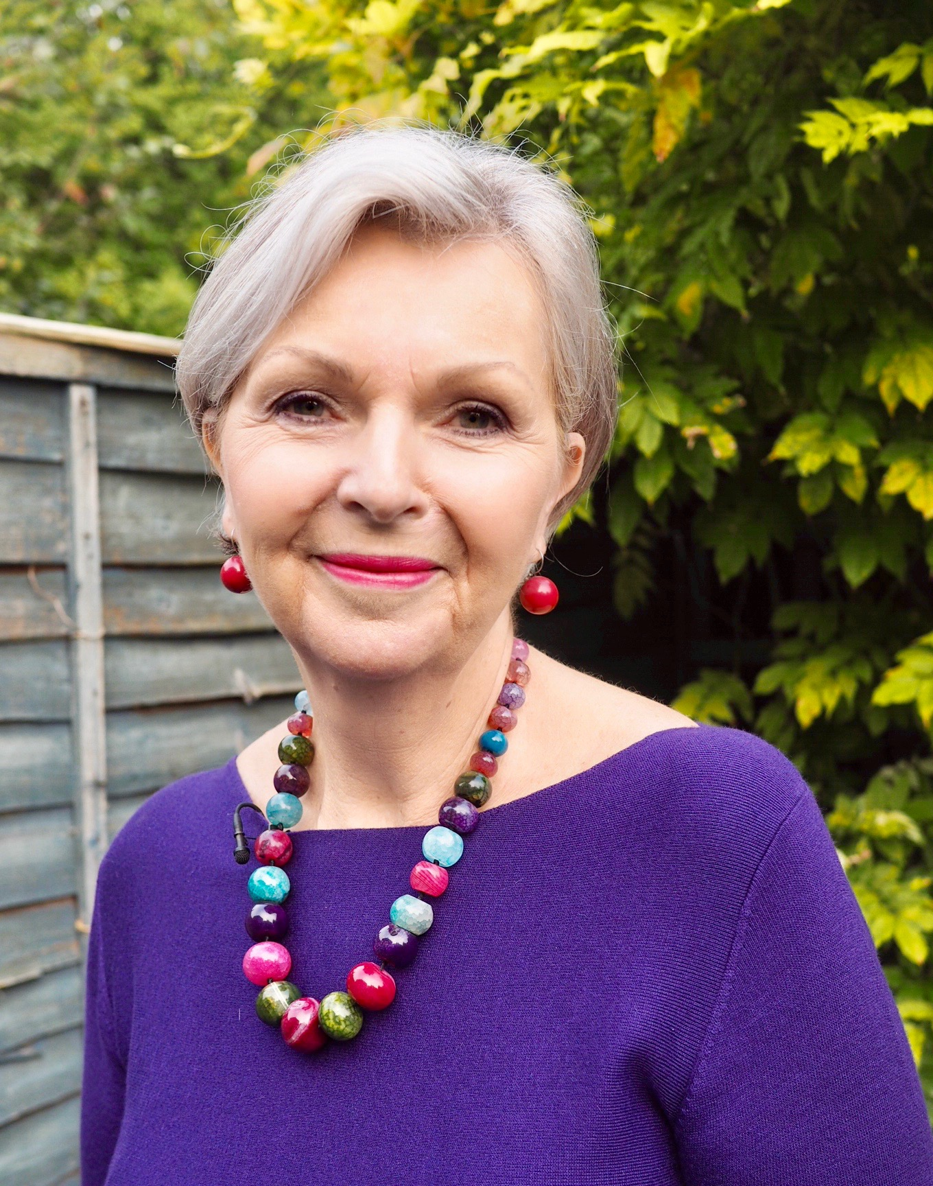 Tricia cusden, the founder of lff, look fabulous forever. makeup for the over 50s.