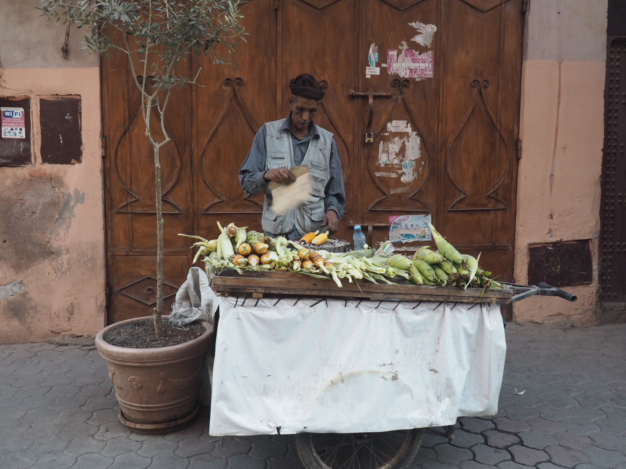 Fast food in Marrakech!