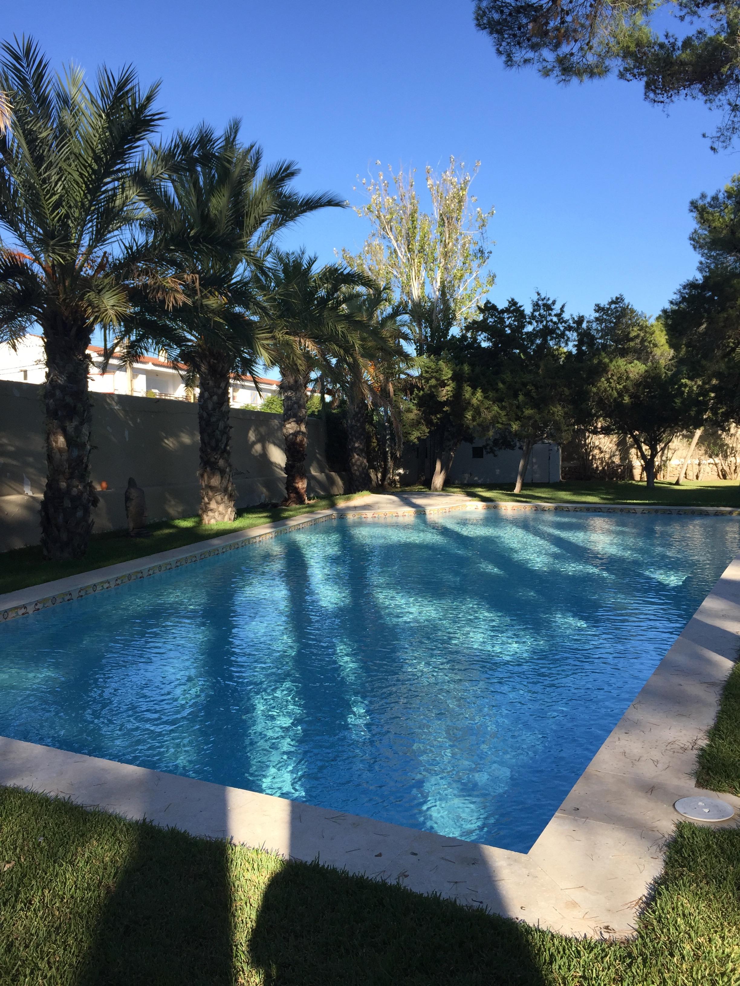 Swimming pool in Ibiza