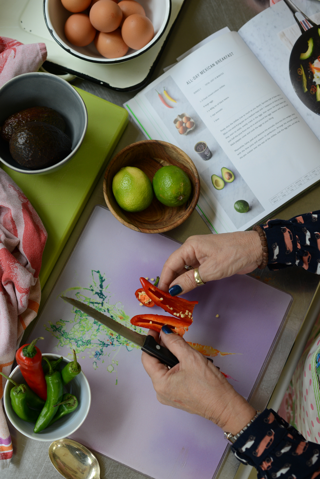 INGREDIENTS FOR a HEALTHY BRUNCH. PHOTOGRAPHY BY SARA DELANEY, NOTES FROM A STYLIST.