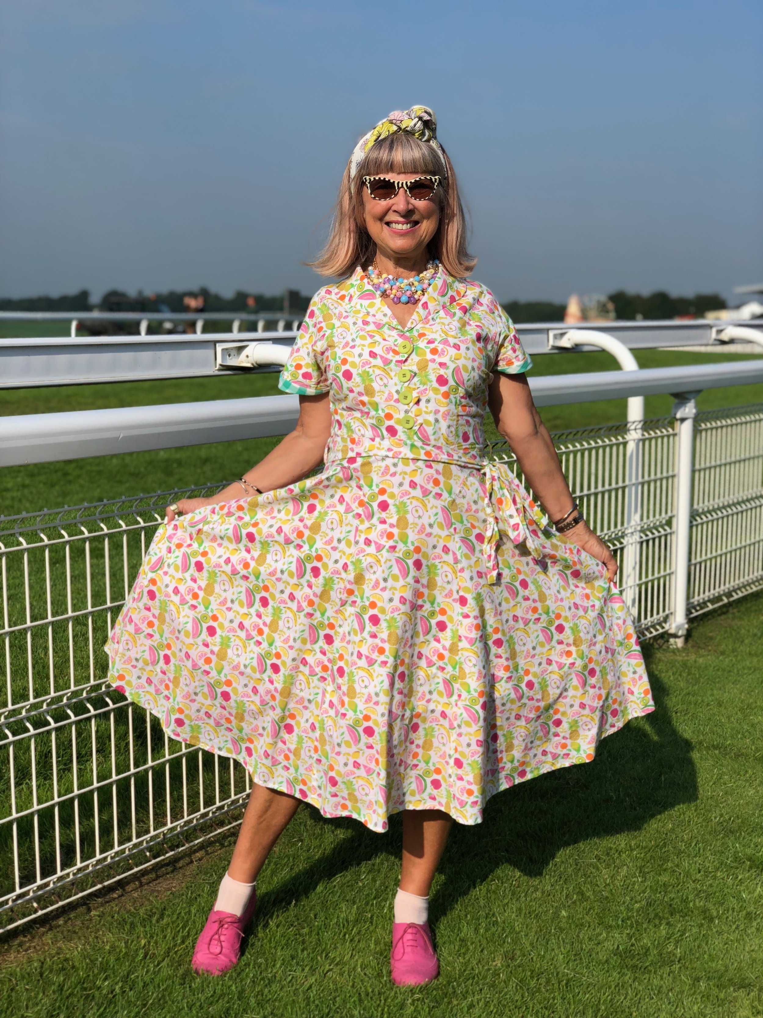 Retro 50s summer dress