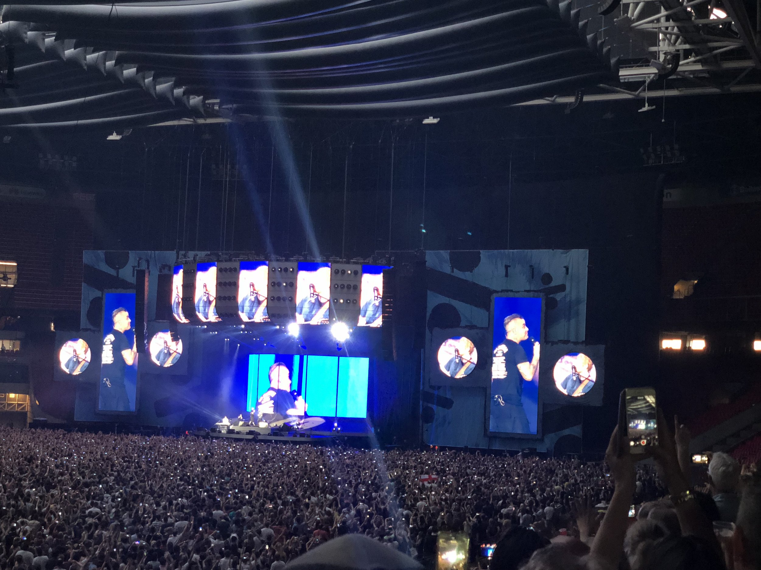 Robbie Williams joining Ed Sheeran, Amsterdam