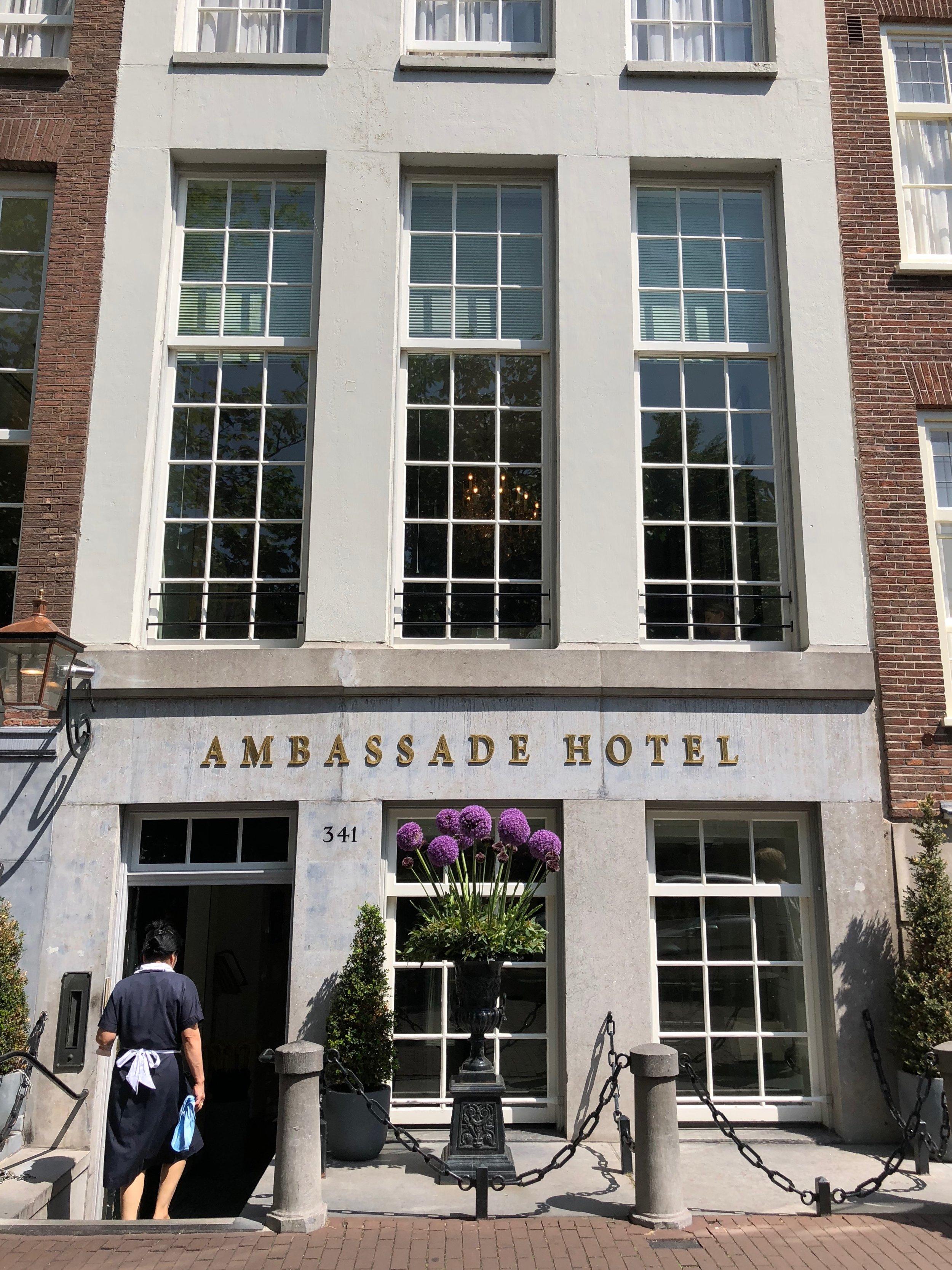 The Ambassade Hotel, Amsterdam