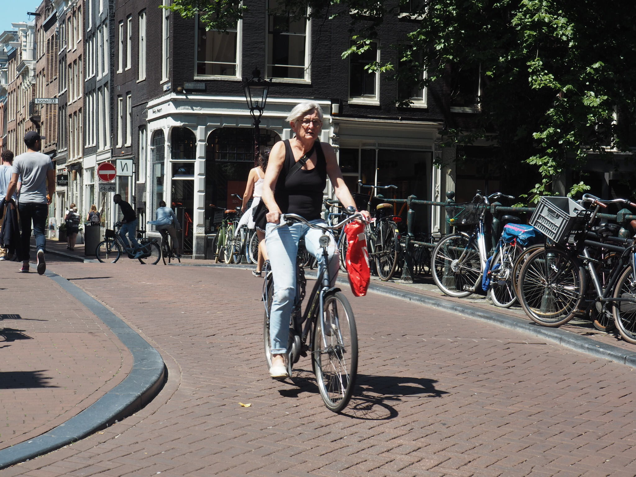 Cyclists in Amsterdam