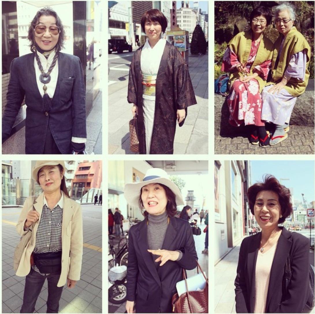 Fashionistas in Tokyo
