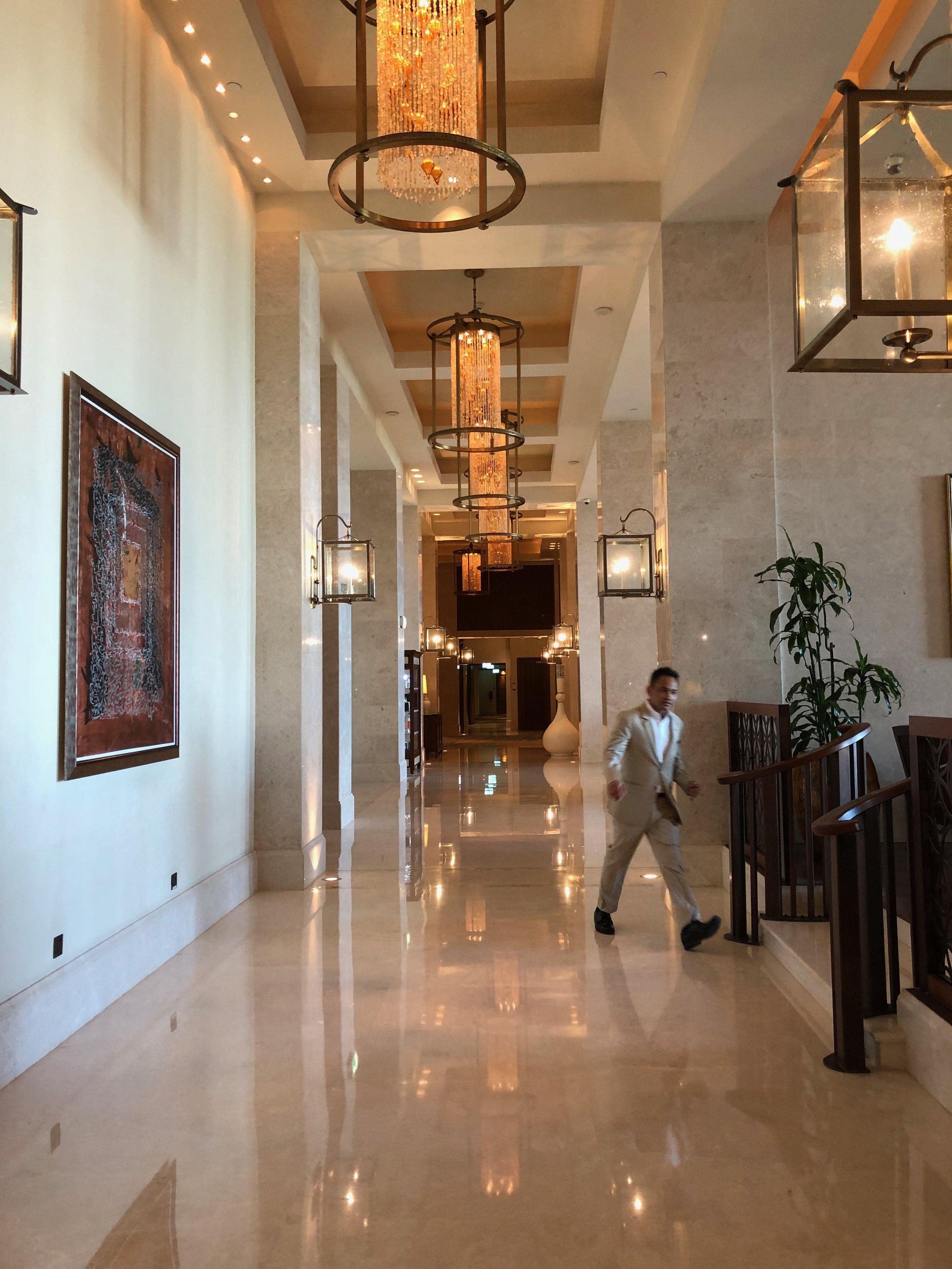 lobby at St. Regis hotel, Saadiyat Island, Abu Dhabi.jpg
