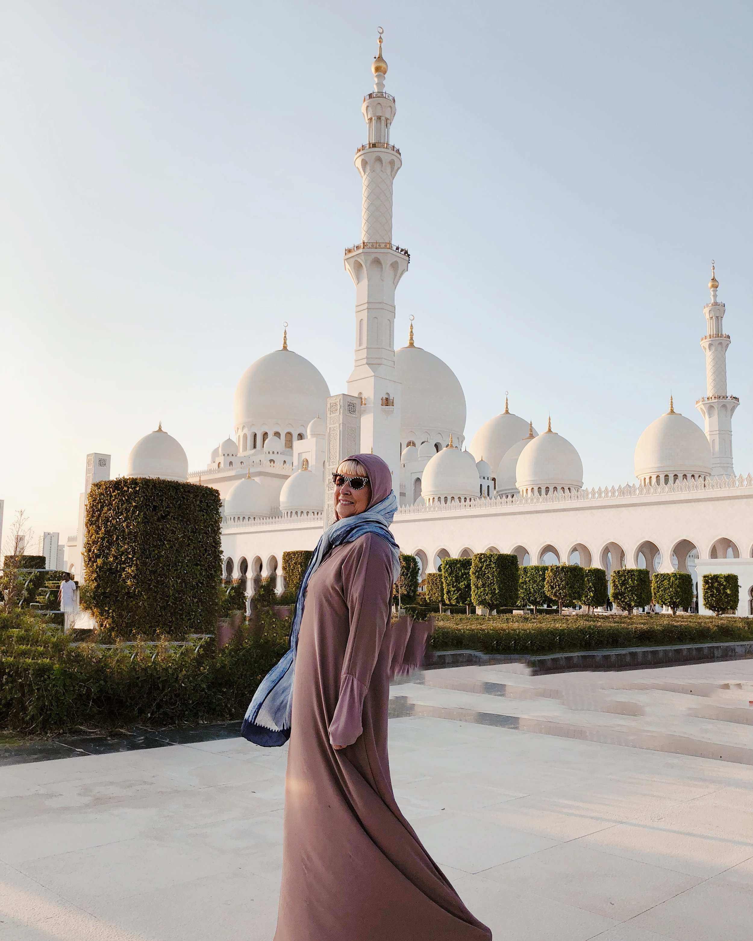 My week in Abu Dhabi