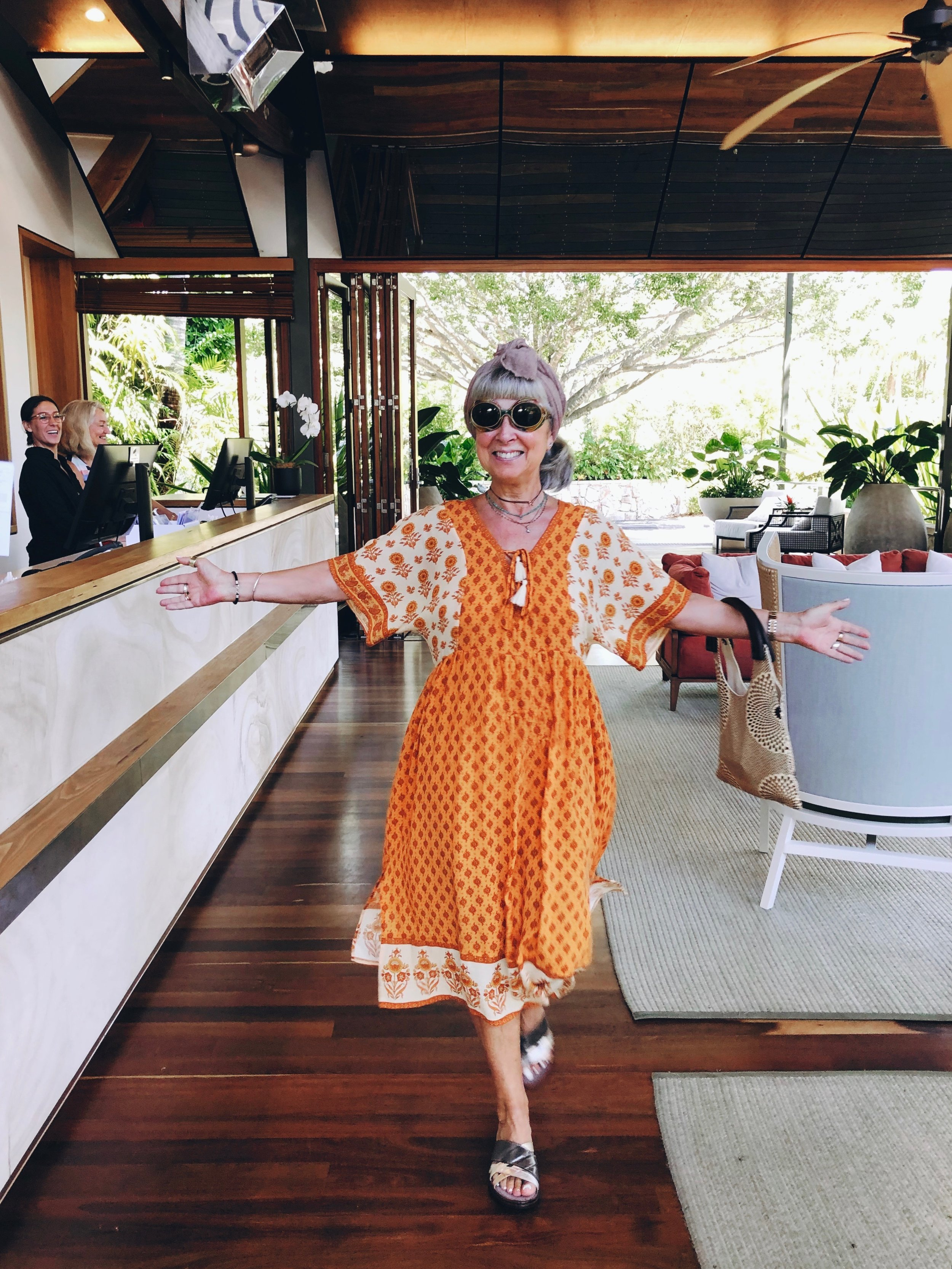 Dress from Arnhem in Byron Bay