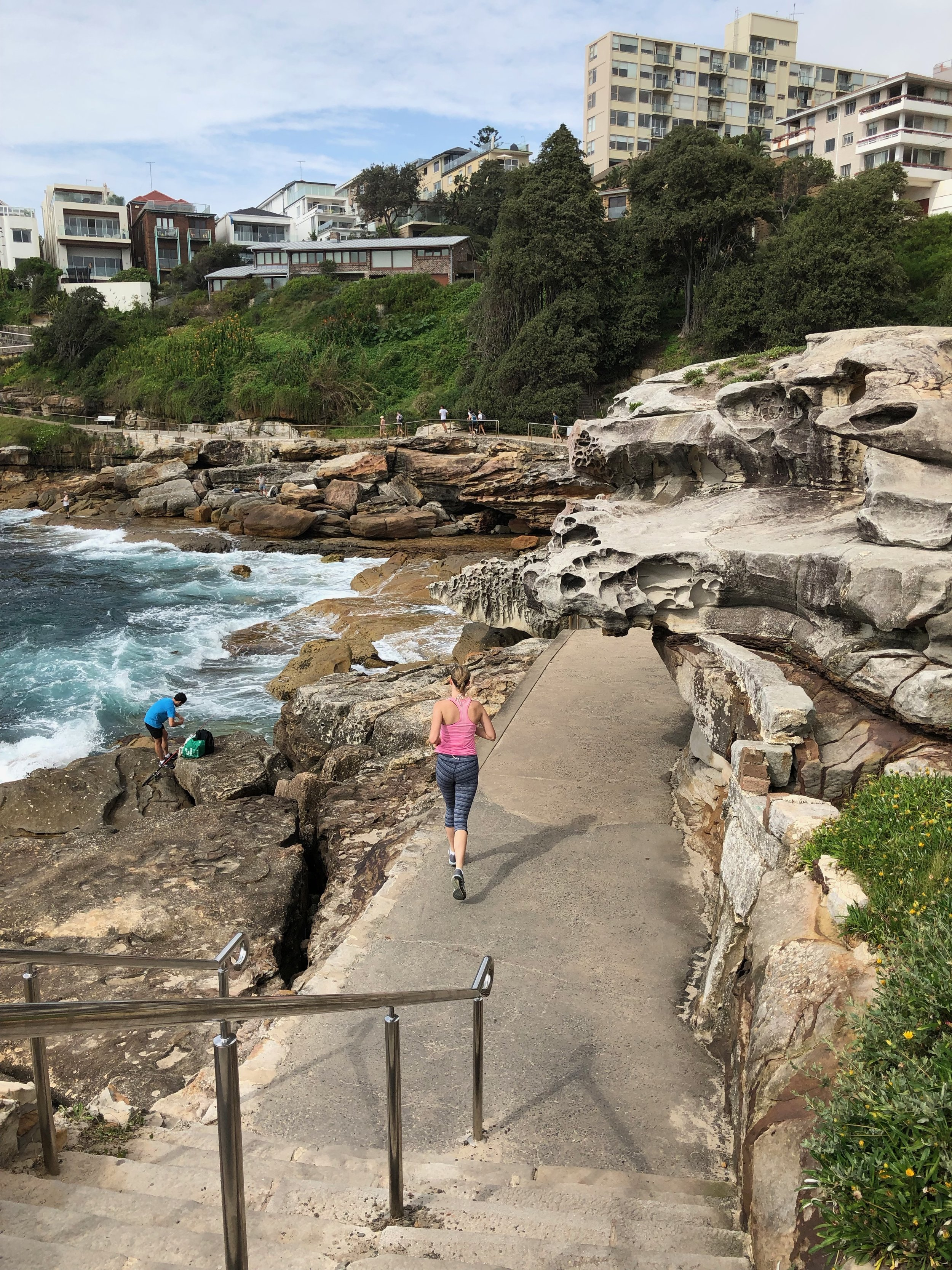 Walk Bondi to Coogee, it's long but fab