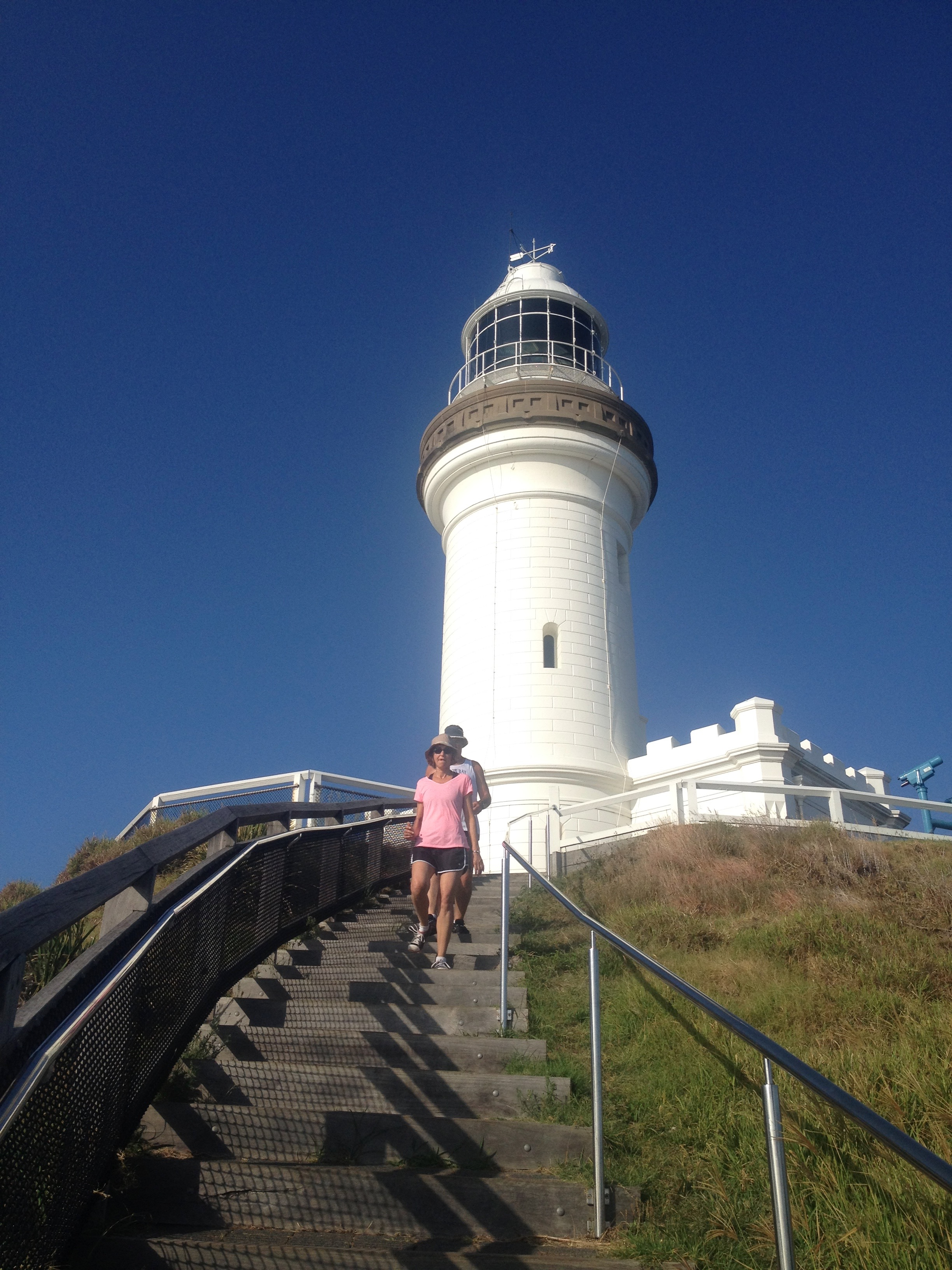 A must do walk…..the walk from Clarkes Beach to Byron Bay lighthouse. It's stunning.