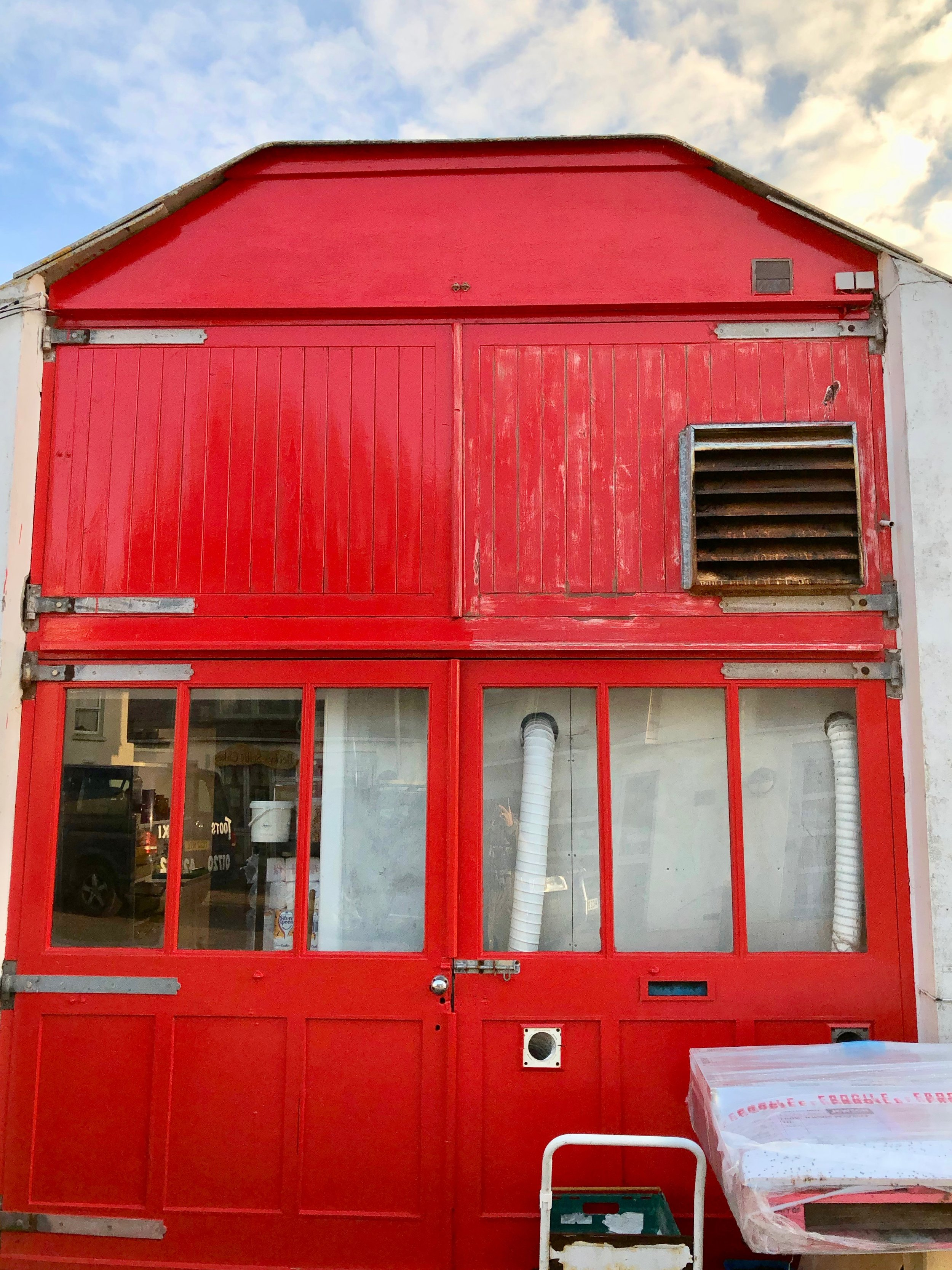 The original fire station, now Dibble & Grub Tapas Restaurant, Hugh Town, Isles of Scilly.