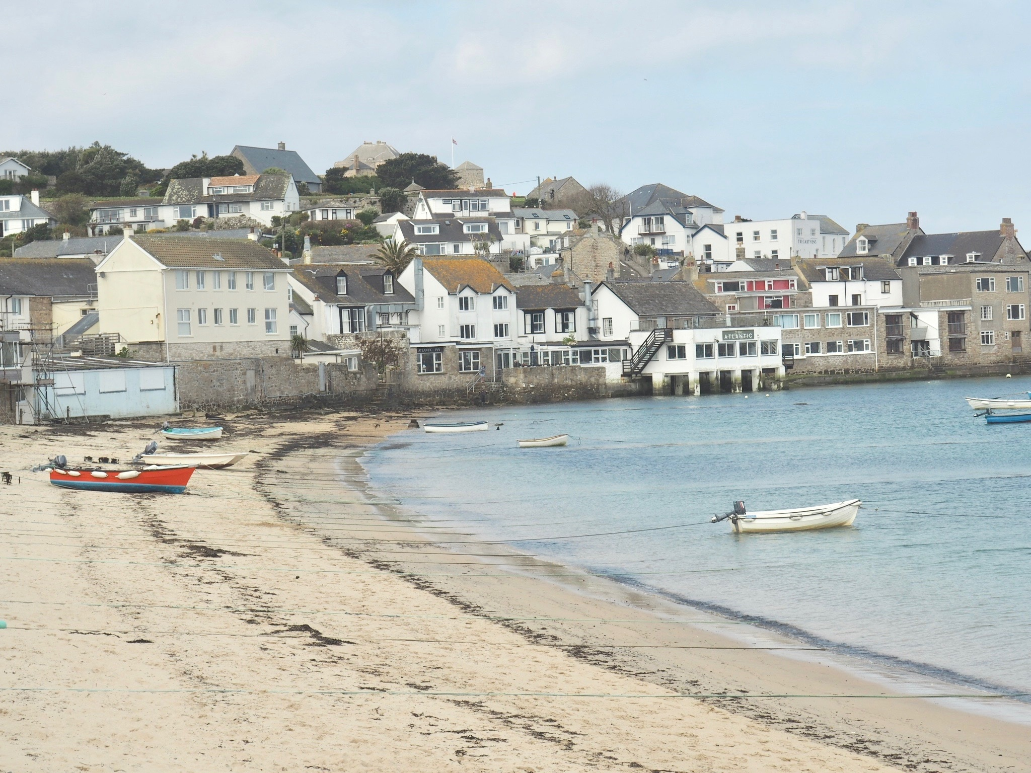 View of Hugh Town, St. Mary's, Scilly Isles.jpg