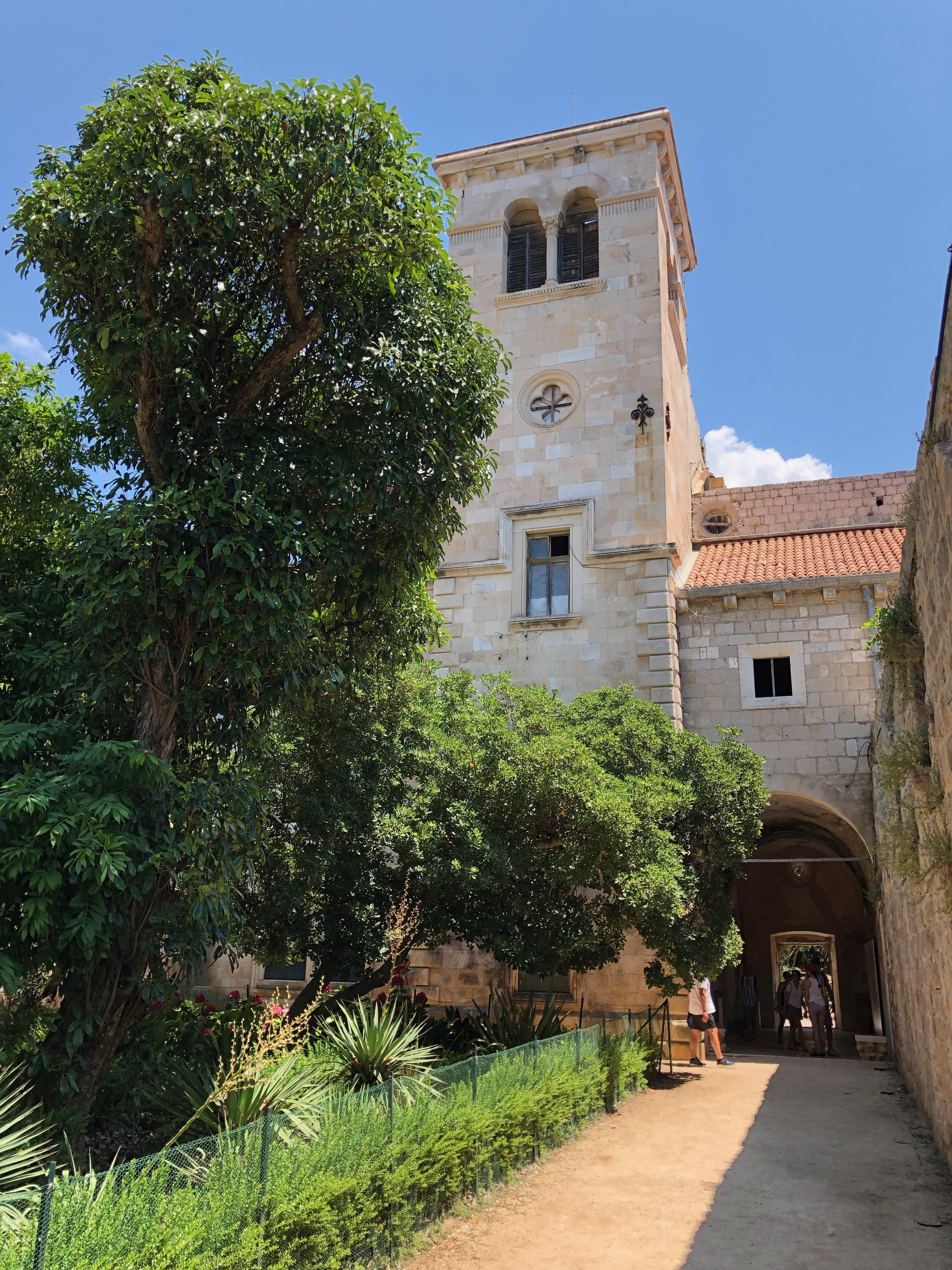Lokrum Monastery.