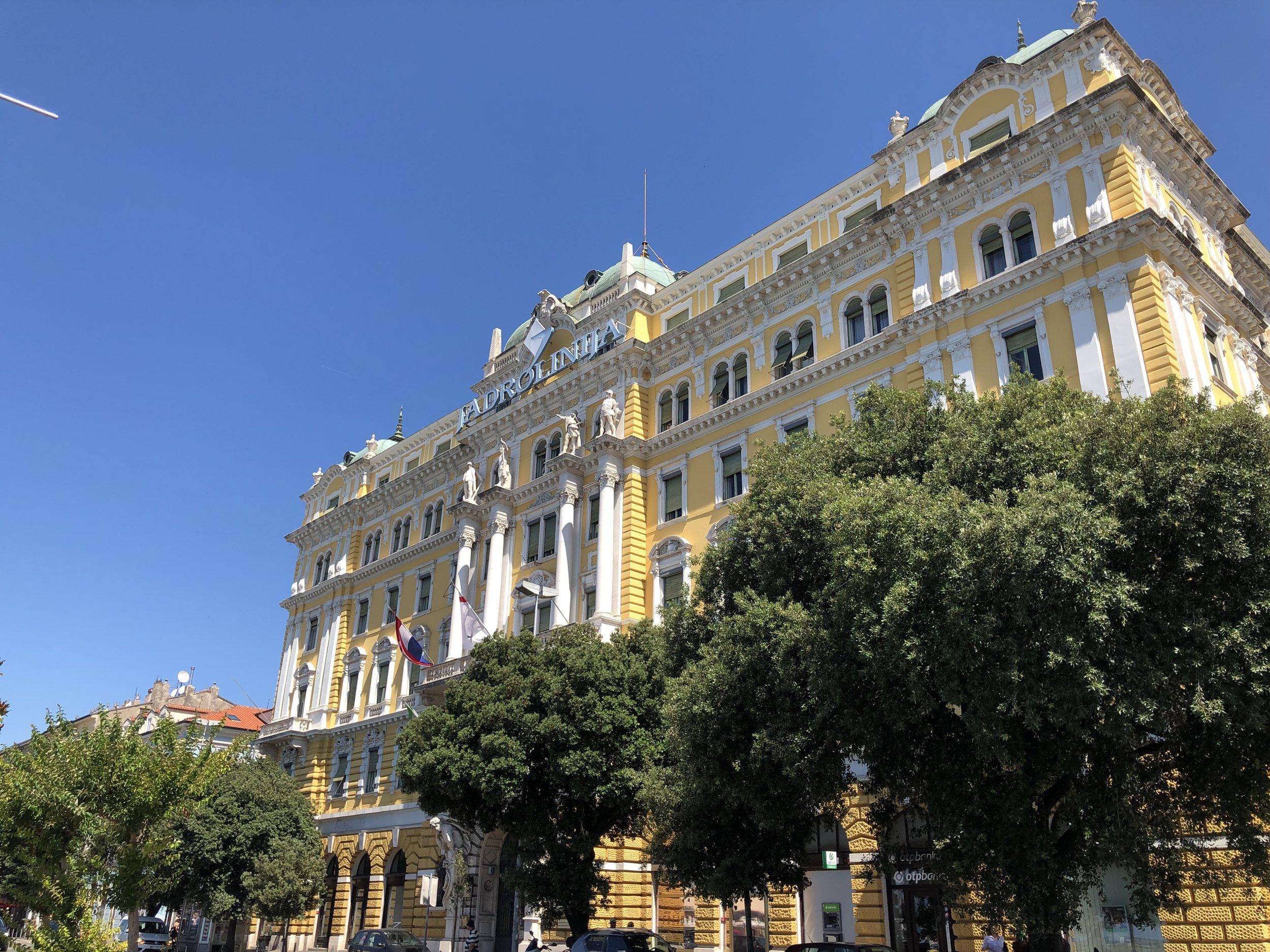 Rijeka in Croatia.