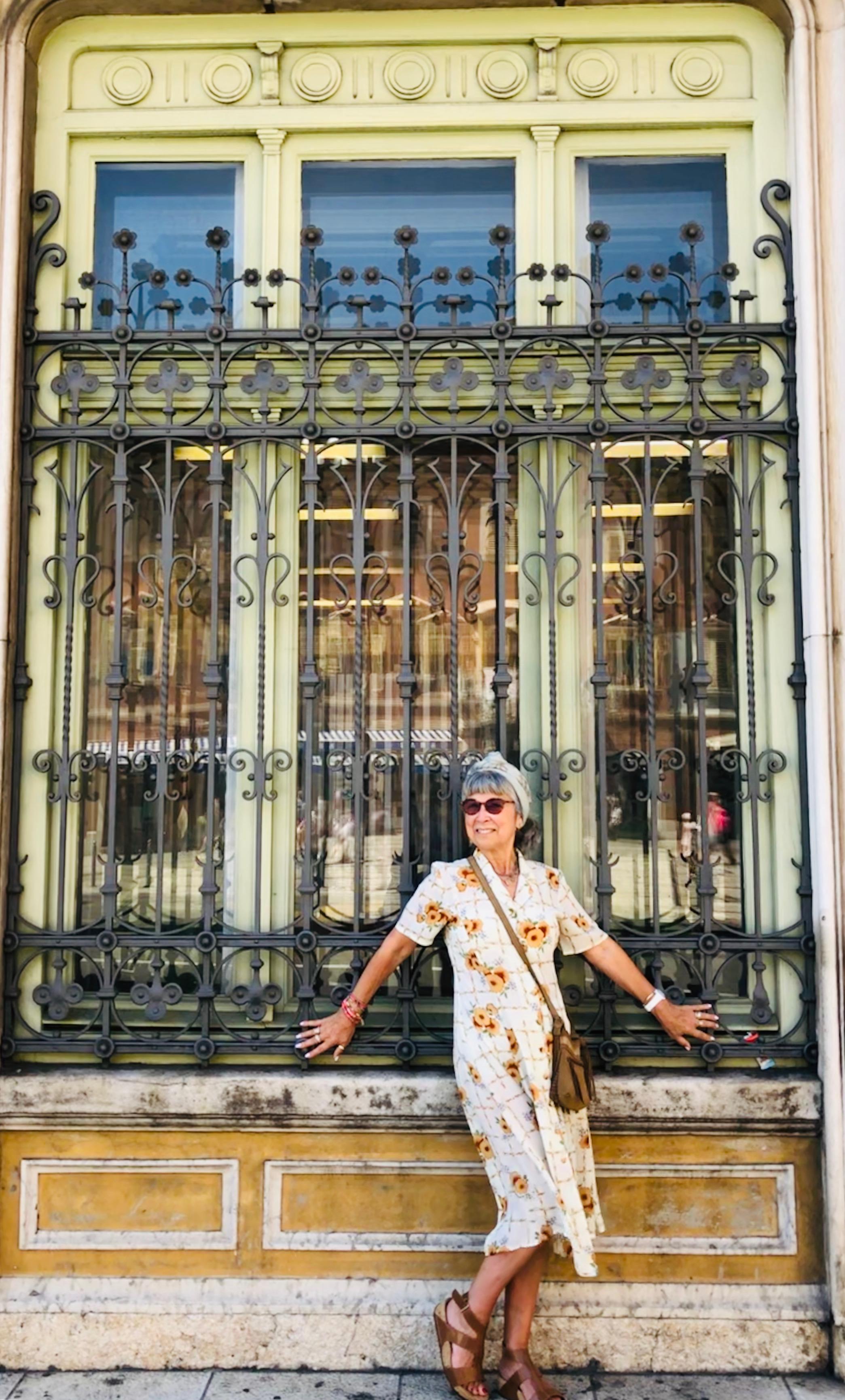 Beautiful doorways in Rijeka.