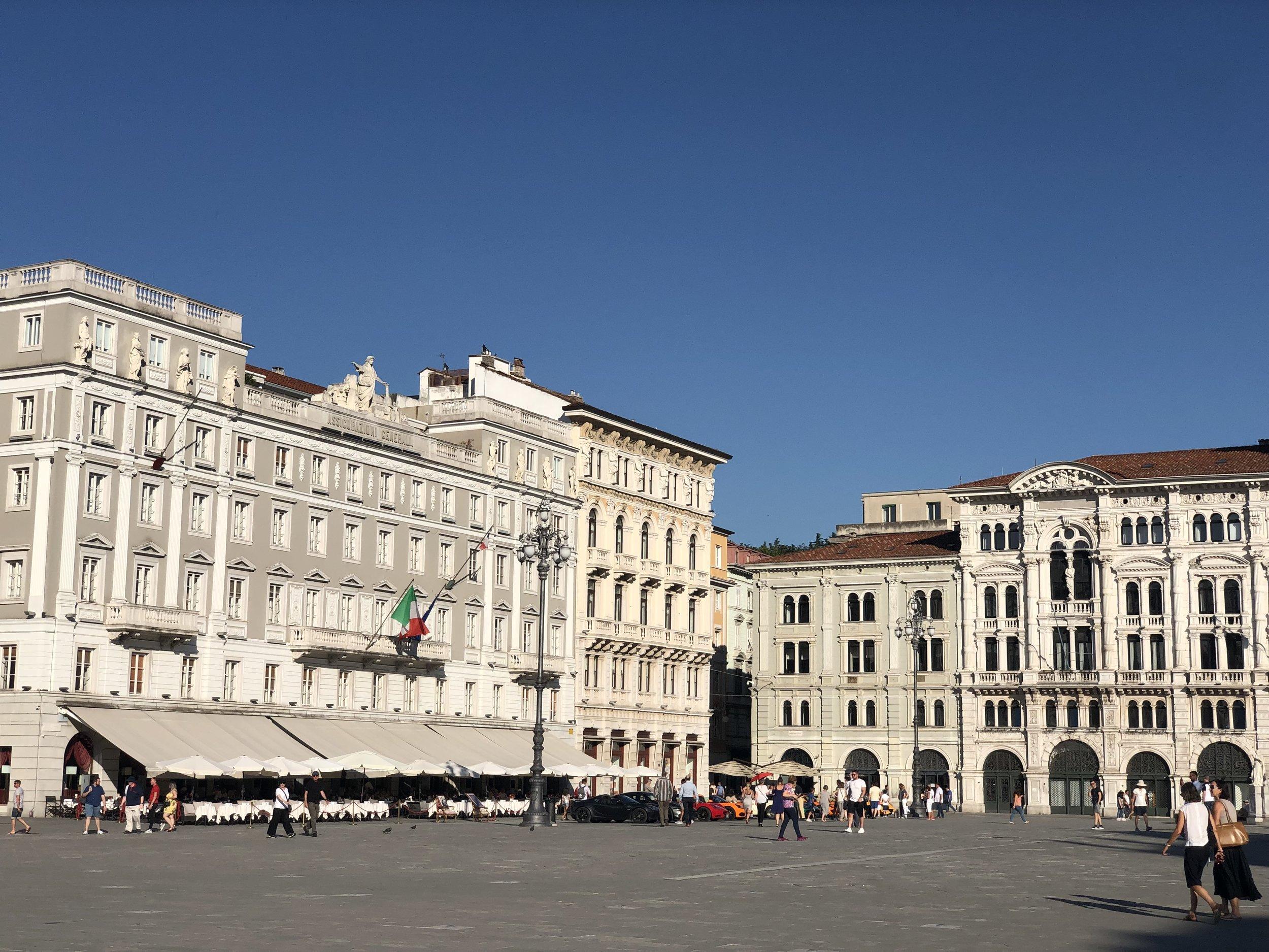 Piazza dell'Unita d'Italia, Trieste, simply stunning.