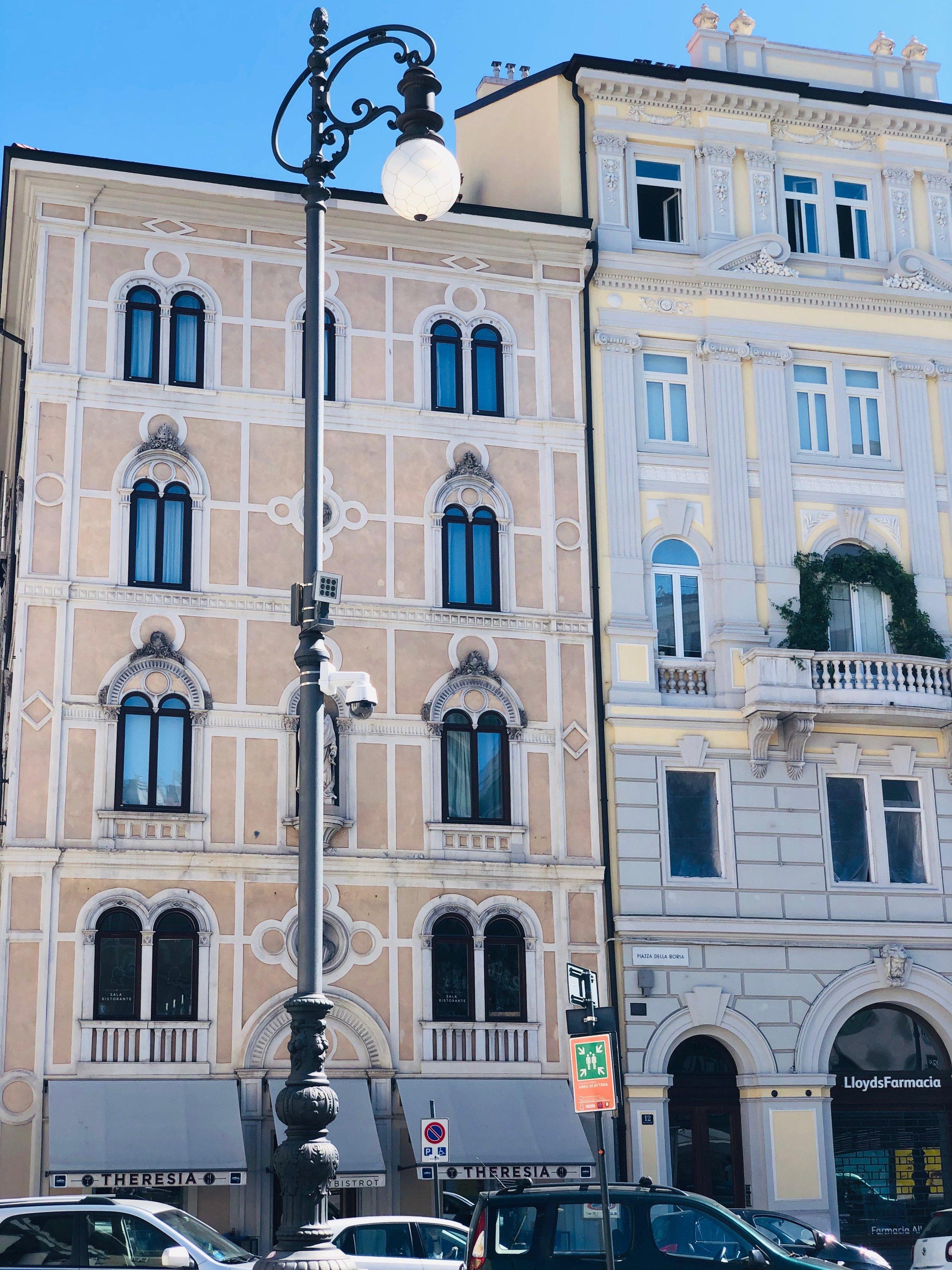 Trieste architecture.