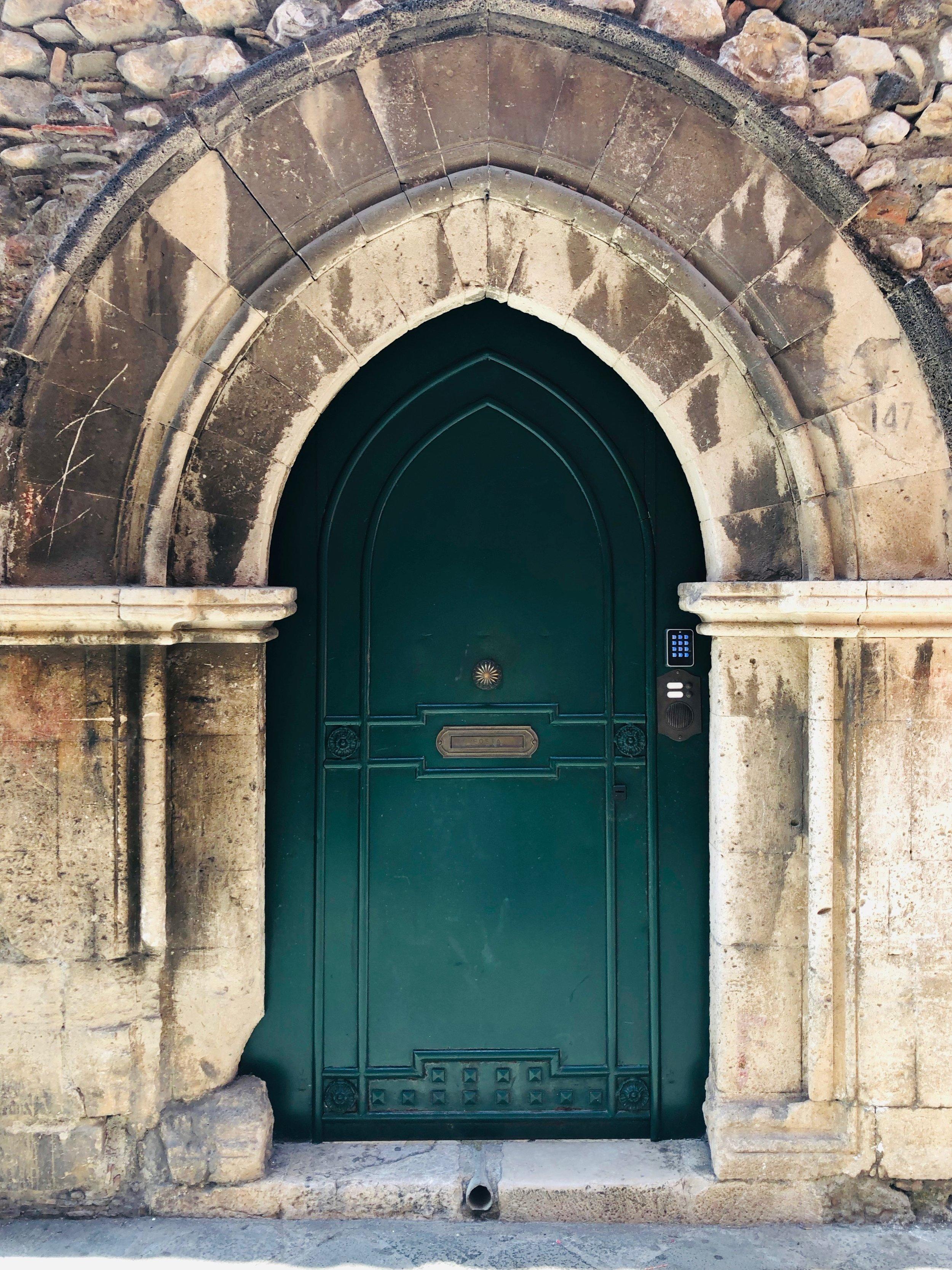 Taormina doorway.