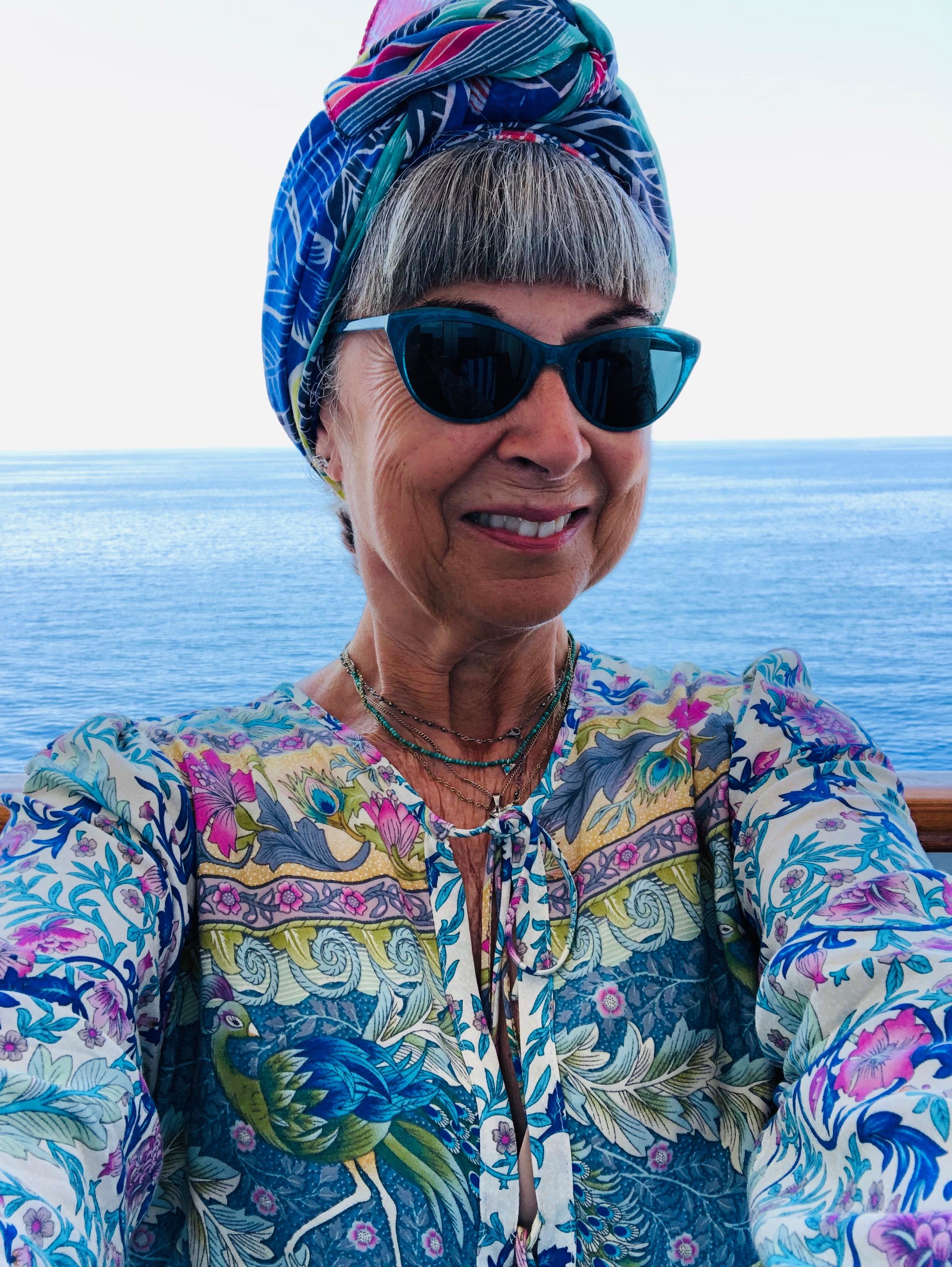 Look how happy I am on my balcony!