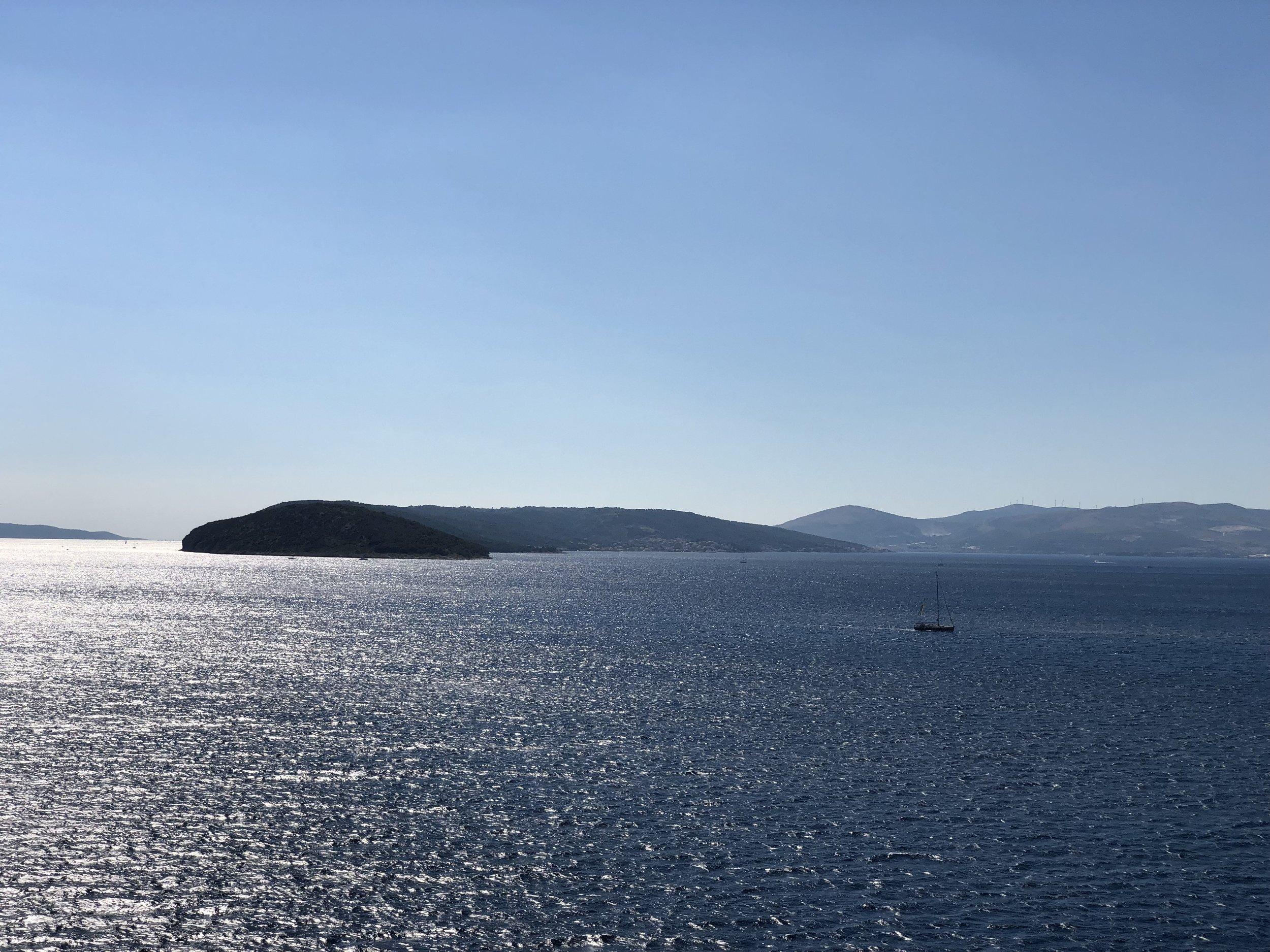 Endless sea views.