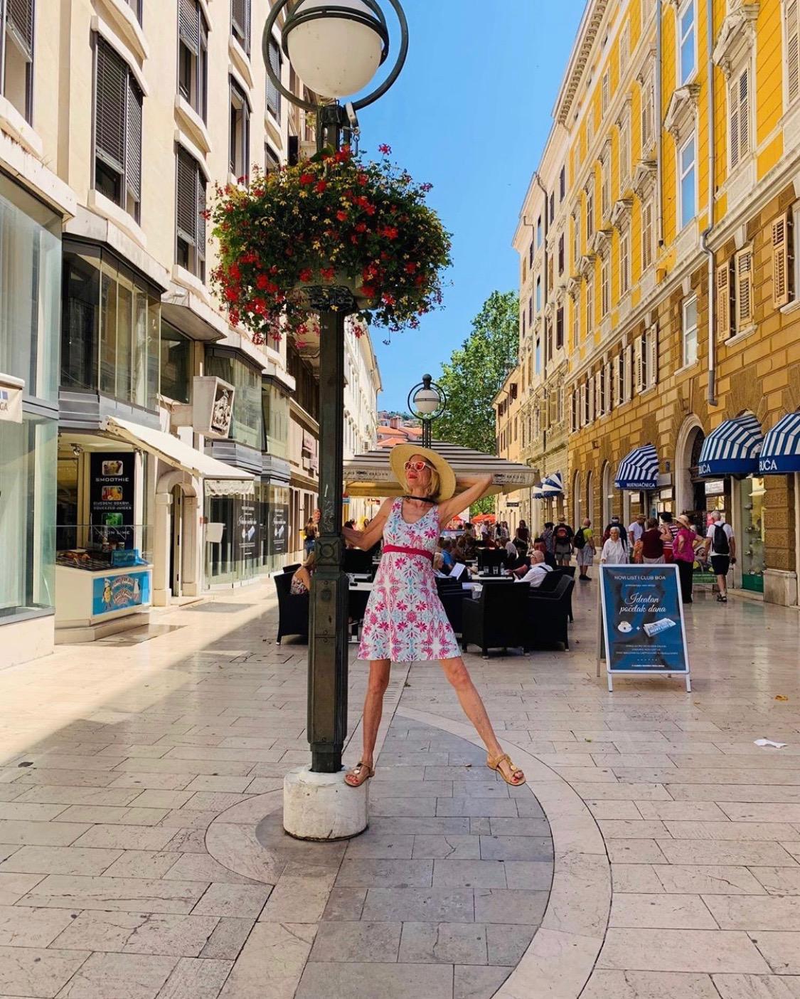 Shopping in Korzo, Rijeka.