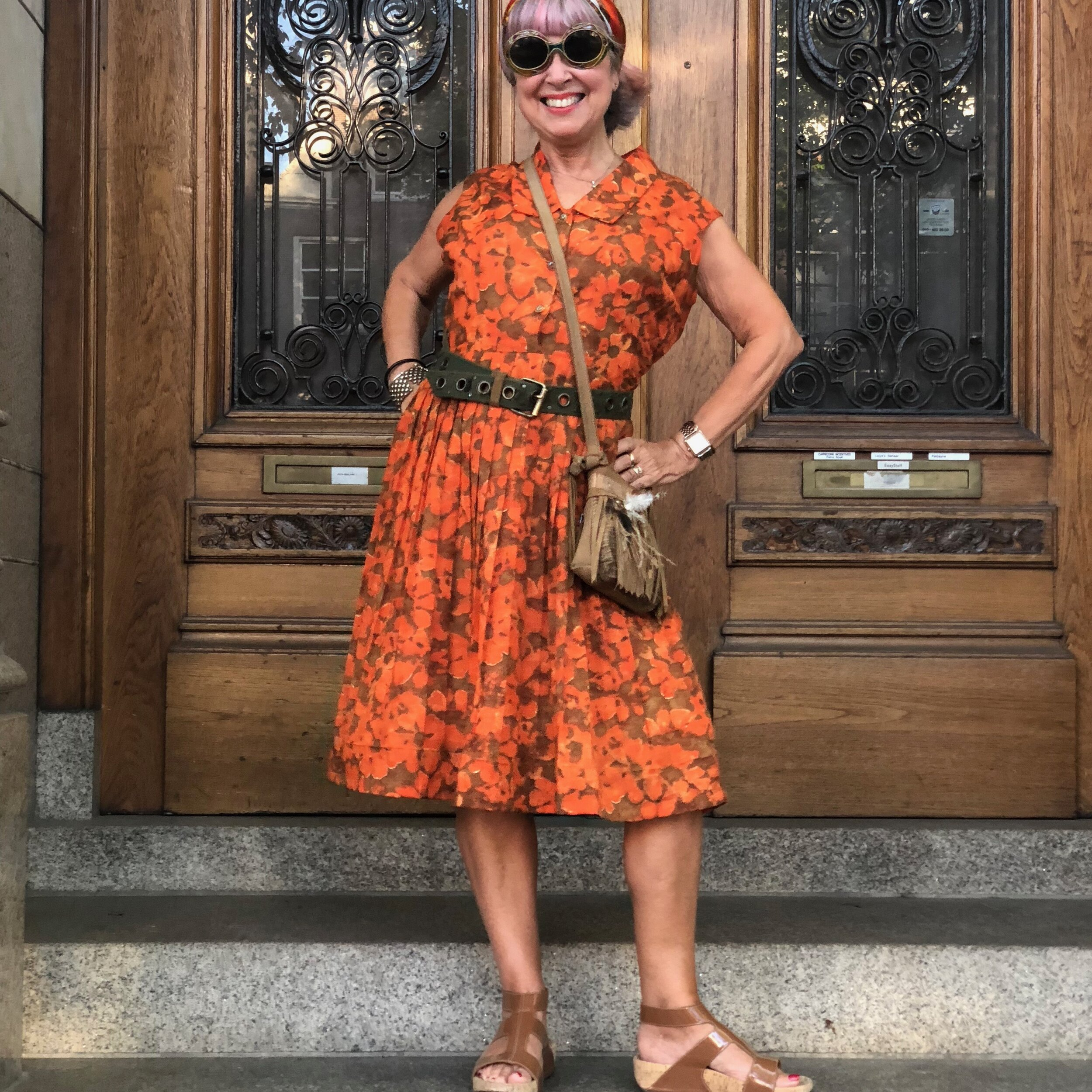 Vintage dress, Paper Moon Vintage, L.A. $60