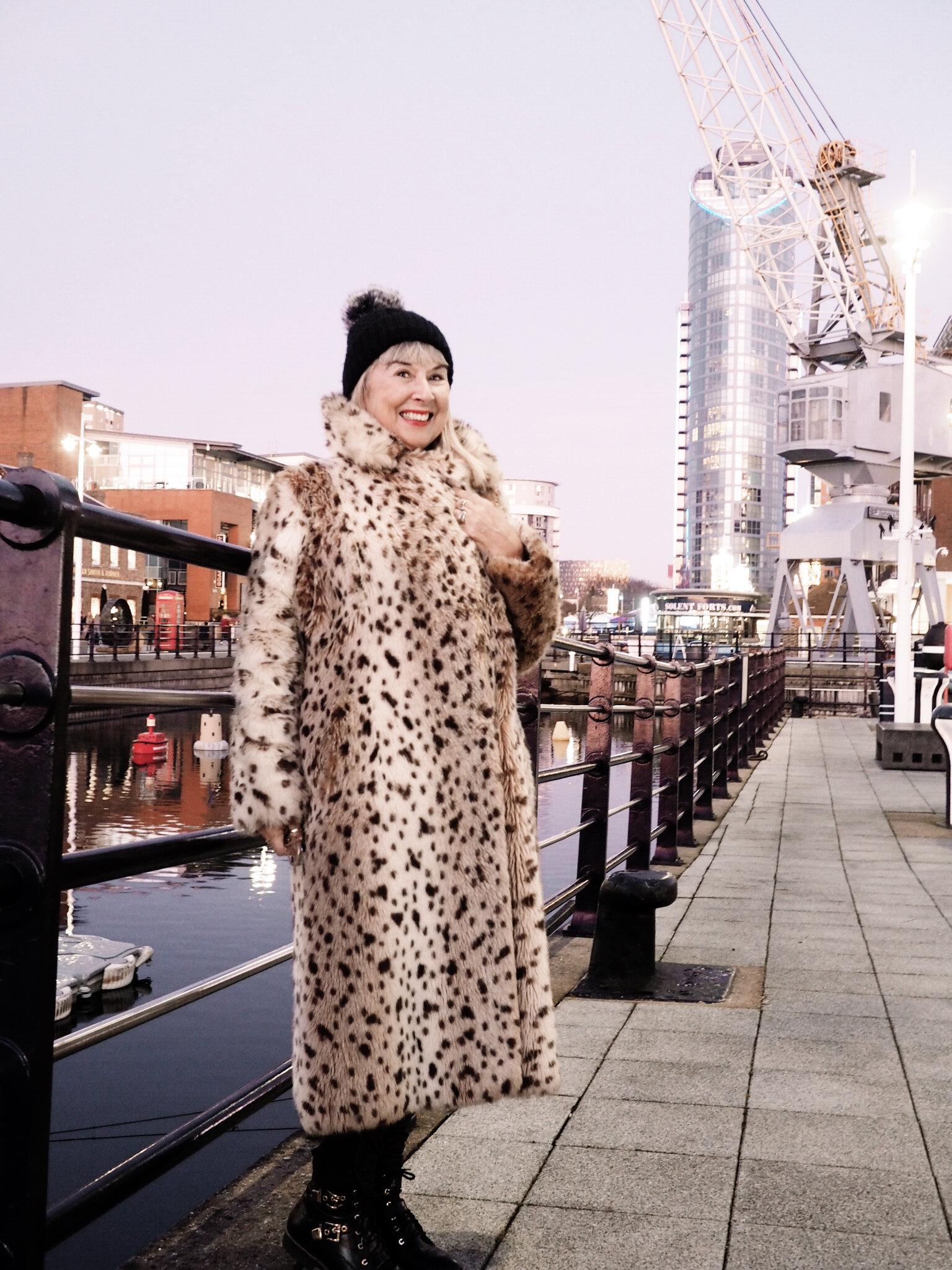 Faux Fur, Vintage Fair, Chichester, £100